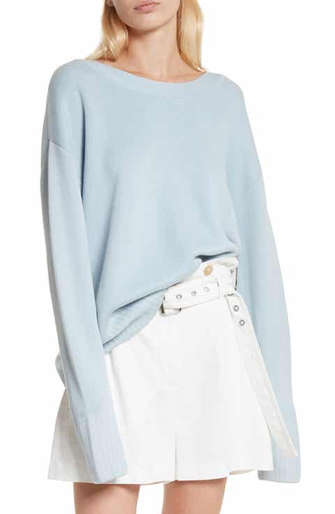 3.1 Phillip Lim Silk & Cotton Blend Sweater