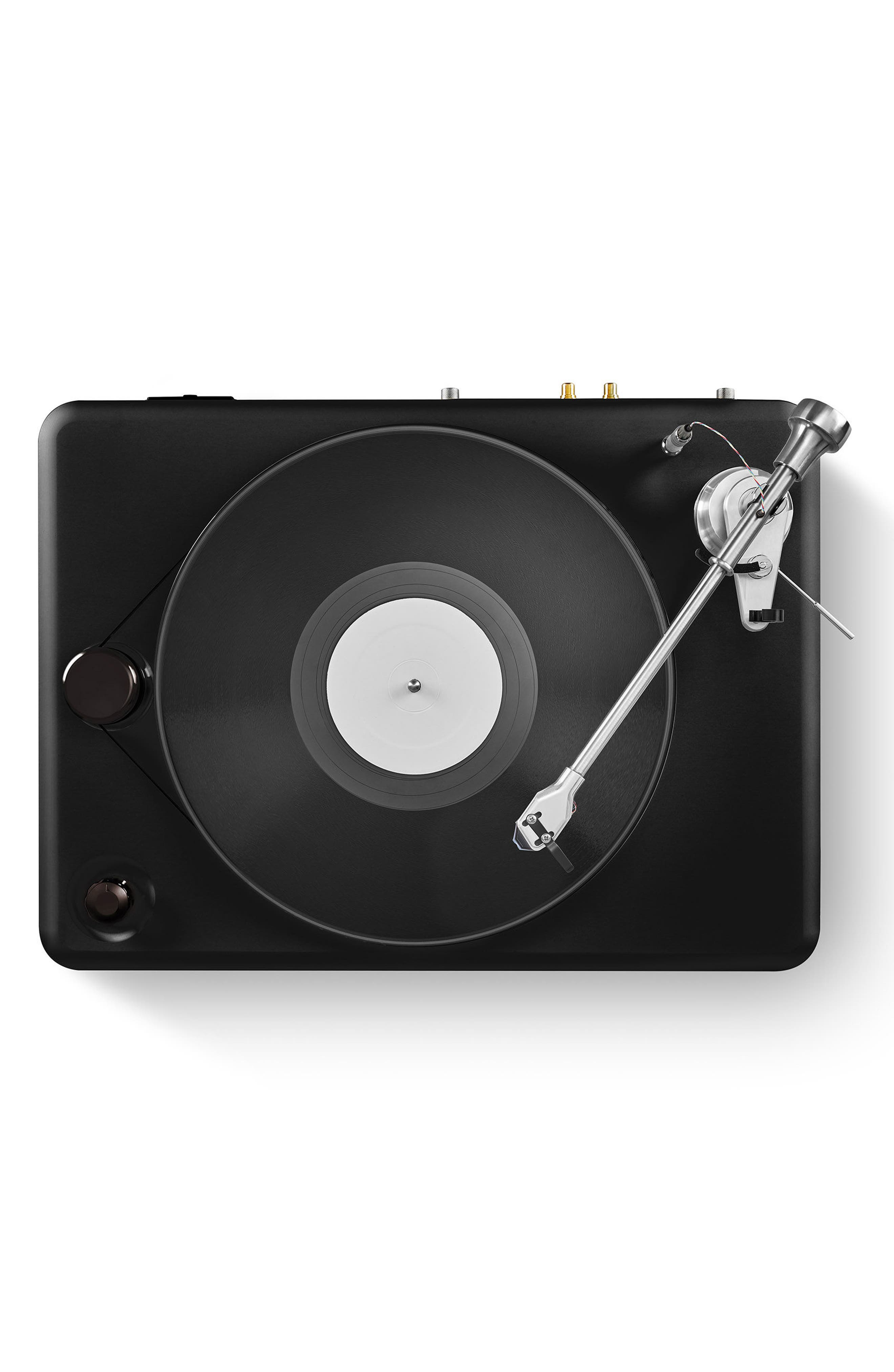 The Runwell Turntable,                             Alternate thumbnail 4, color,                             Black/ Silver