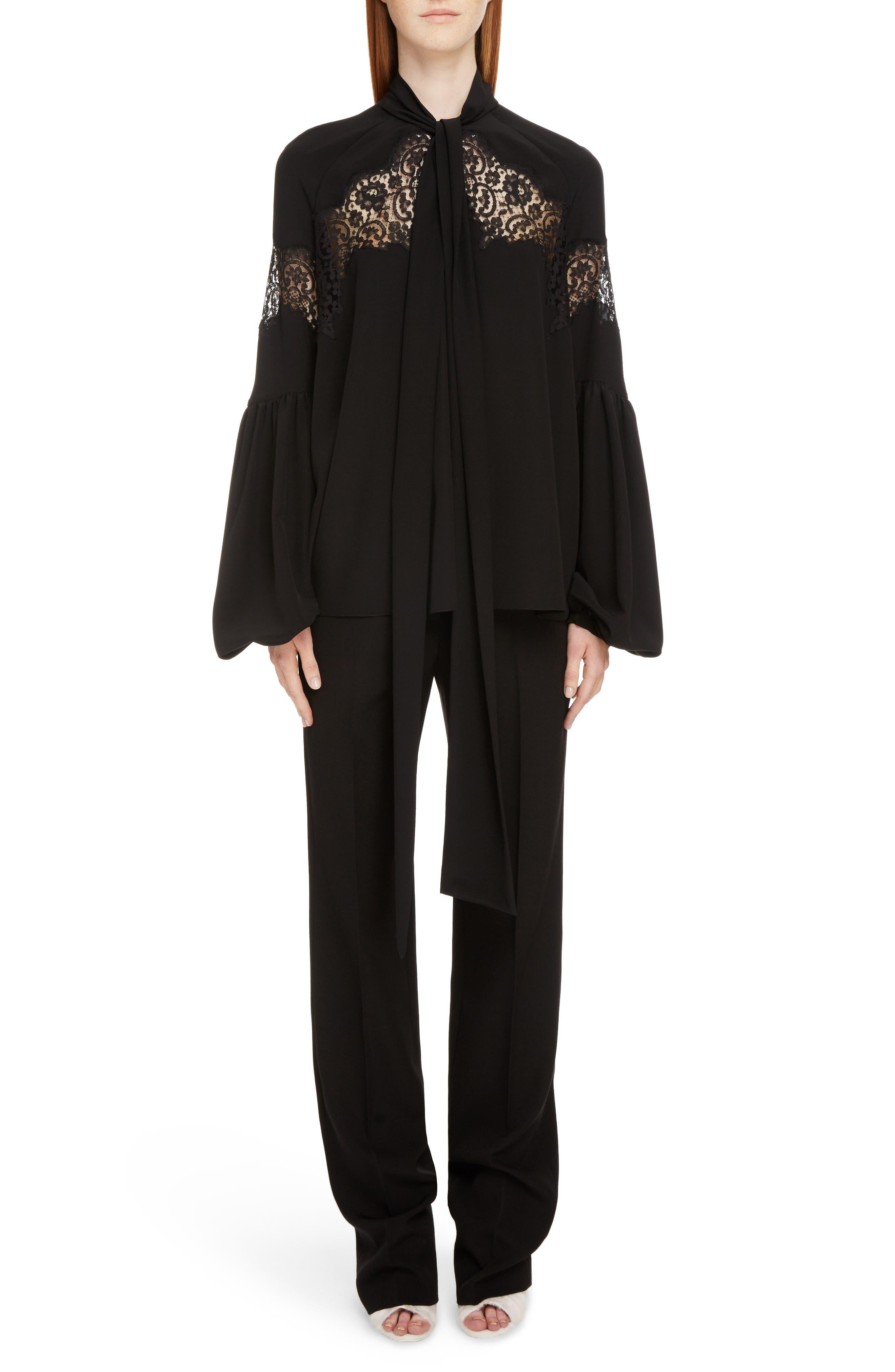 Alternate Image 6  - Givenchy Wool Straight Leg Pants