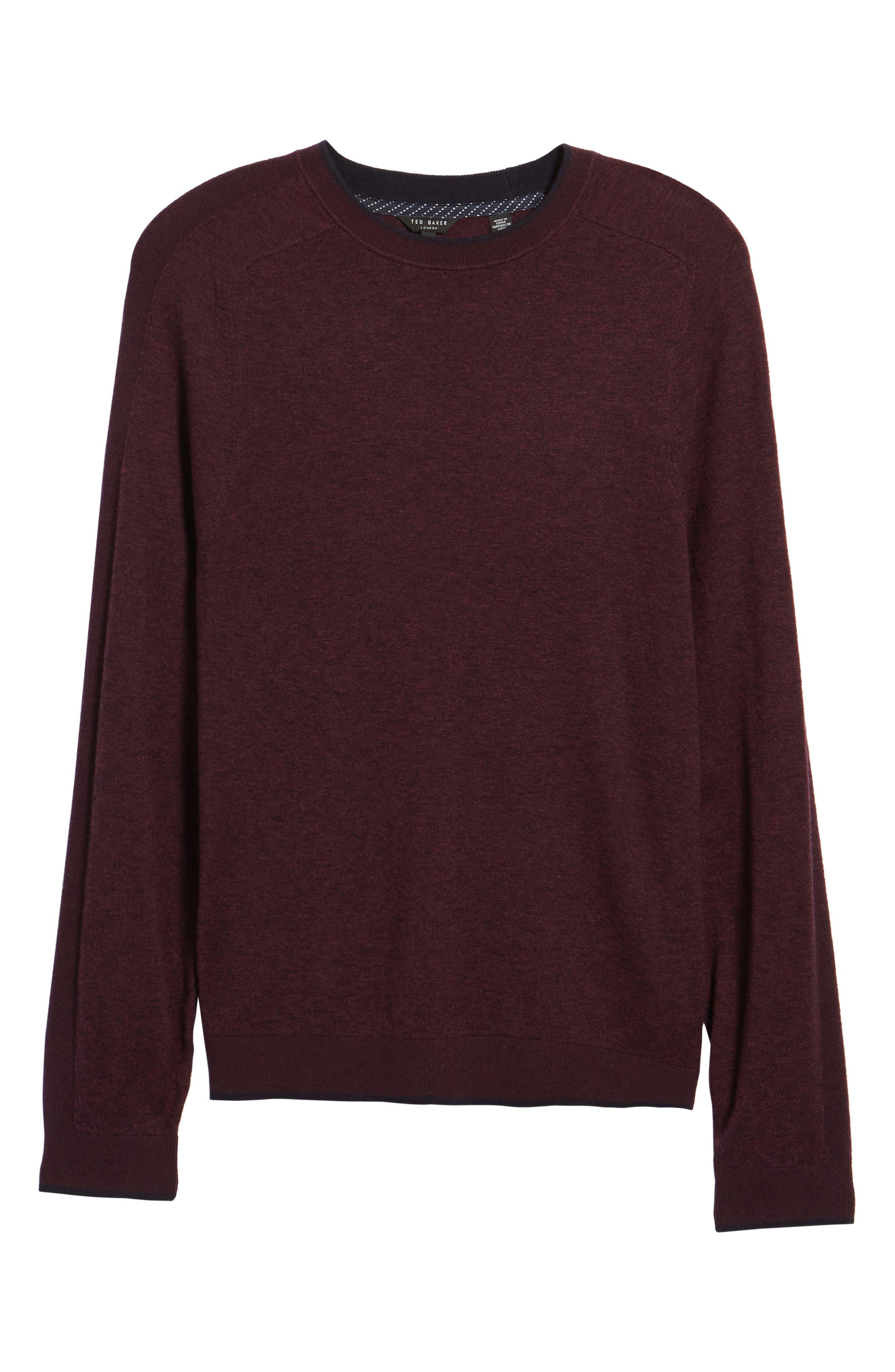 Alternate Image 5  - Ted Baker London Norpol Crewneck Sweater