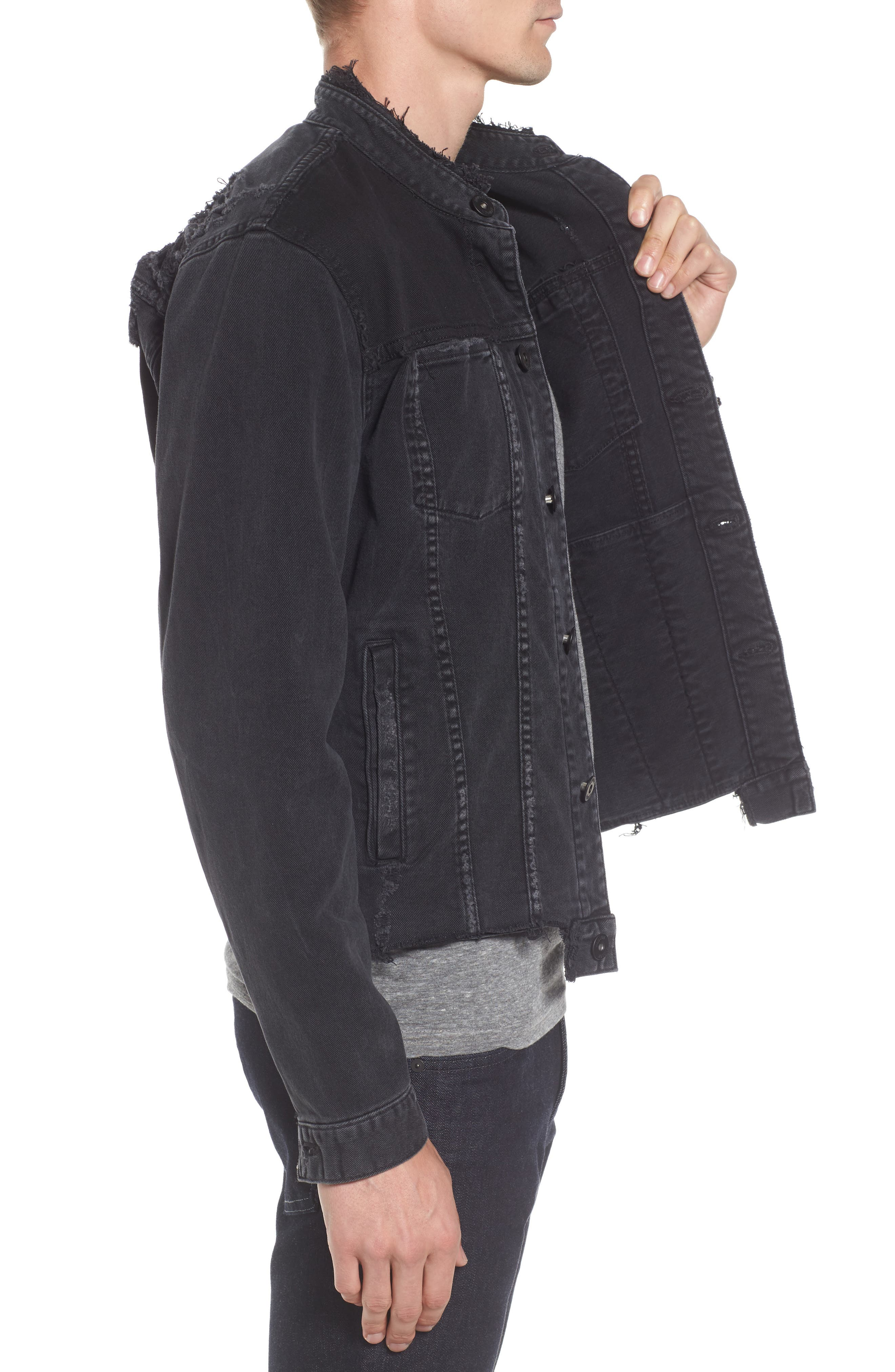 Alternate Image 3  - Hudson Jeans Blaine Denim Jacket