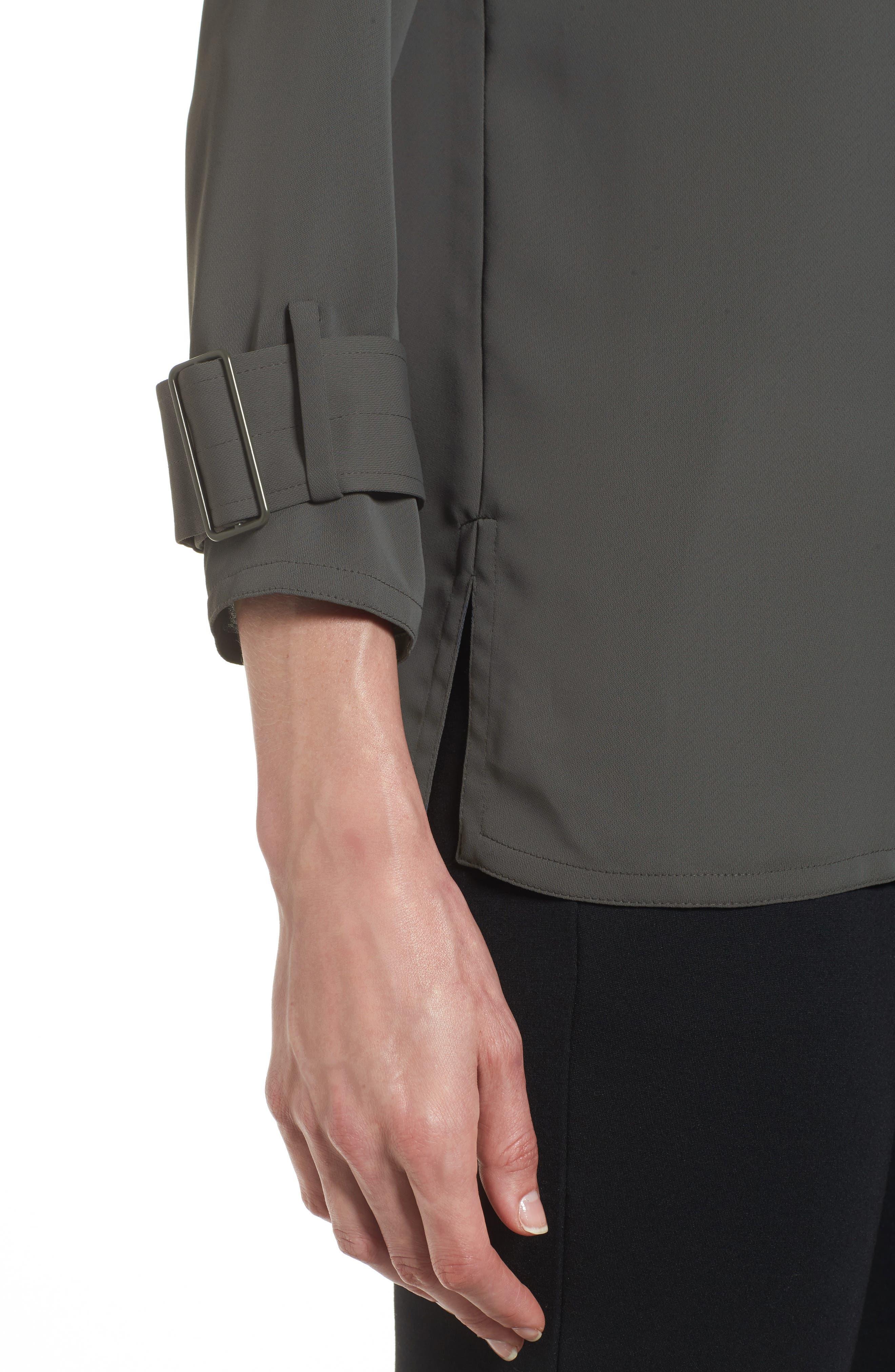 Alternate Image 4  - NIC+ZOE Buckle Sleeve Top (Regular & Petite)