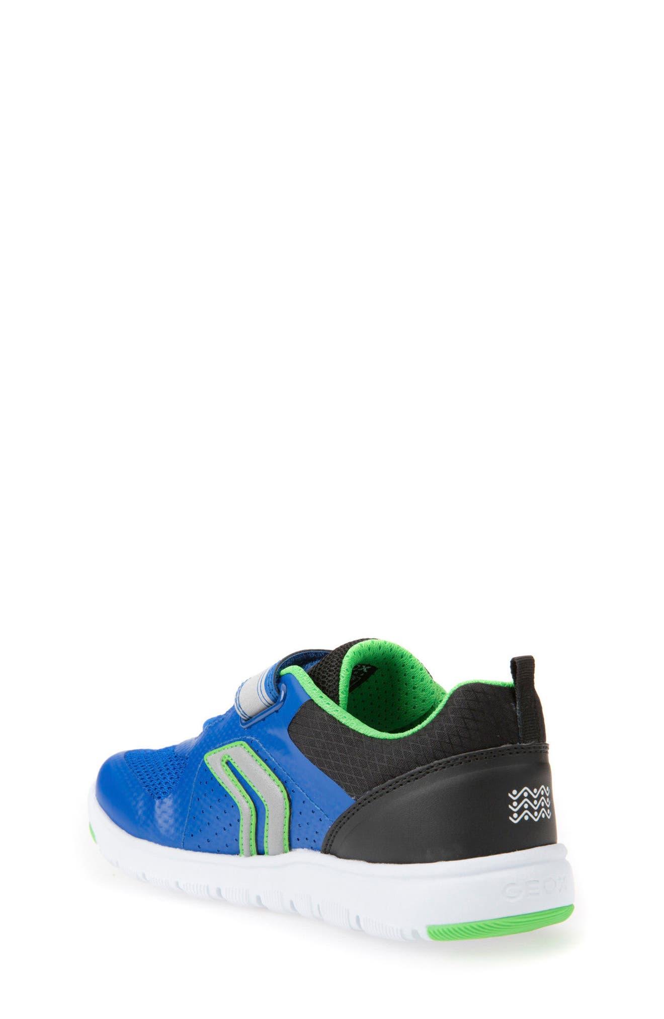 Alternate Image 2  - Geox Xunday Low Top Sneaker (Toddler, Little Kid & Big Kid)