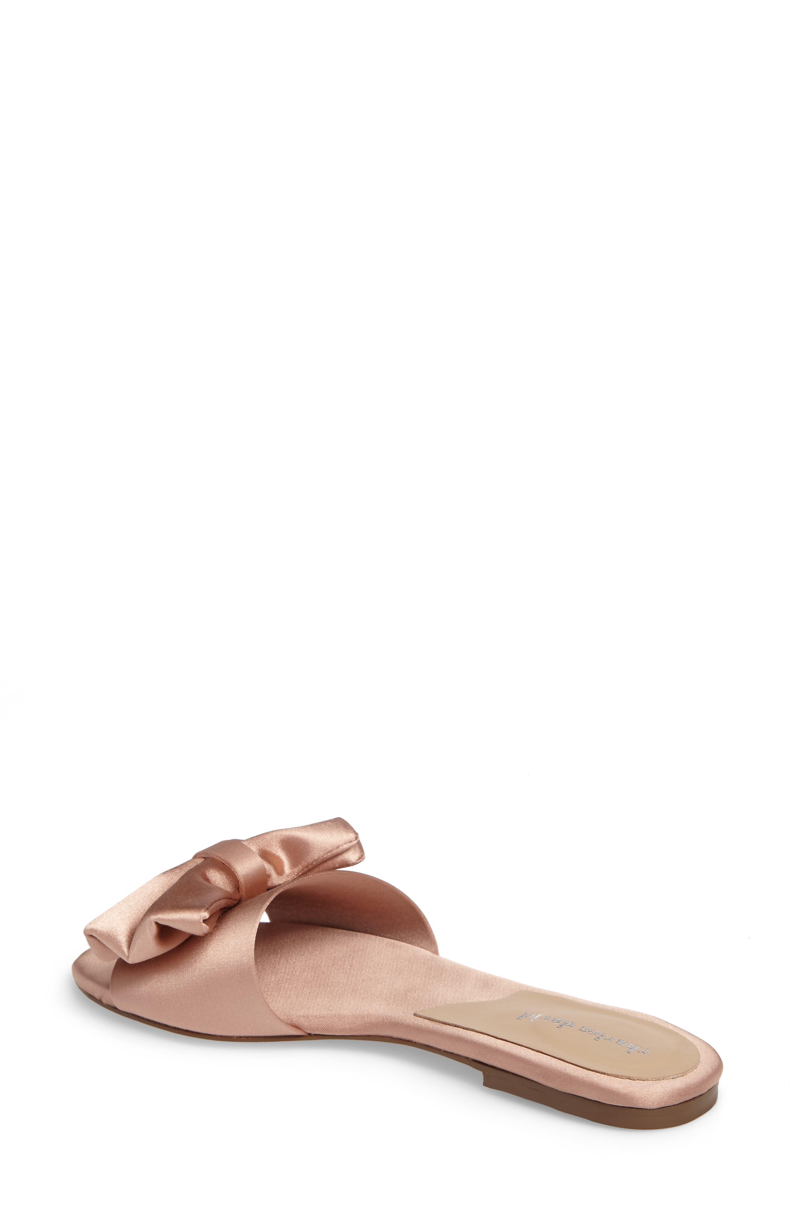 Alternate Image 2  - Charles David Bow Slide Sandal (Women)