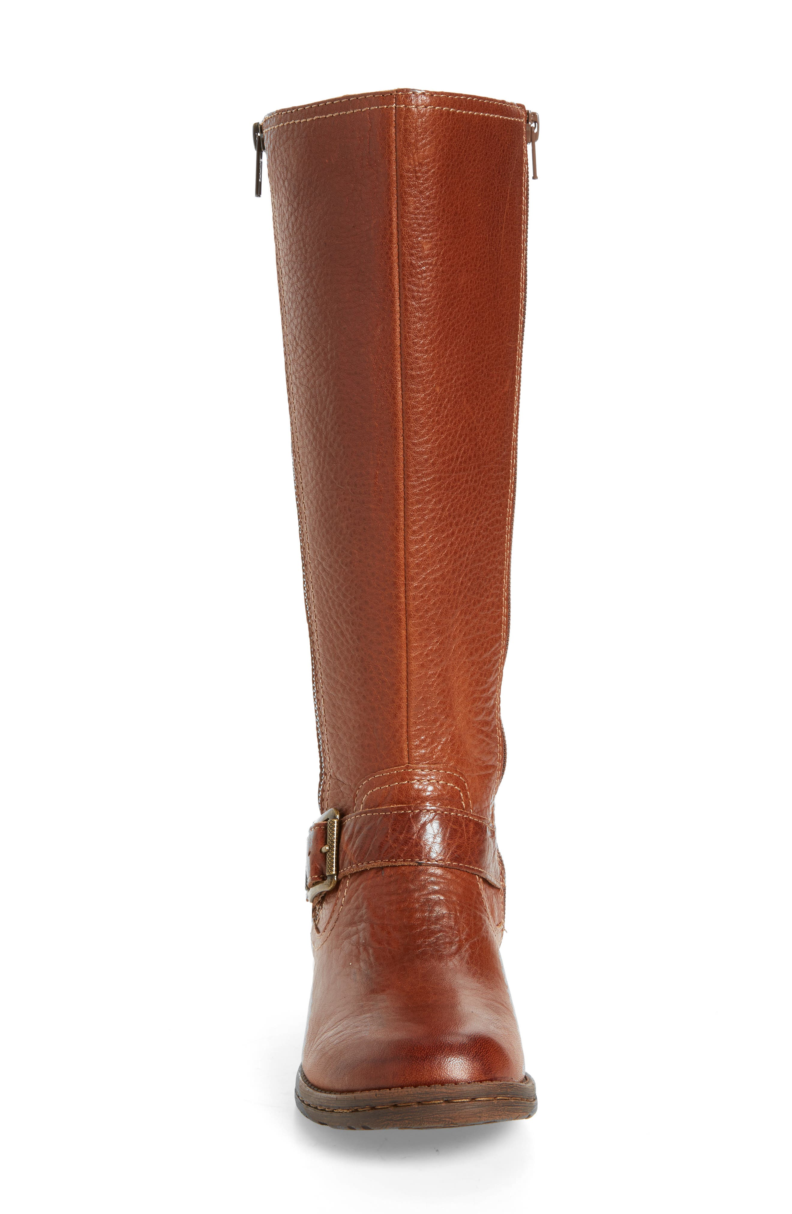 Sedalia Tall Boot,                             Alternate thumbnail 4, color,                             Whiskey Leather