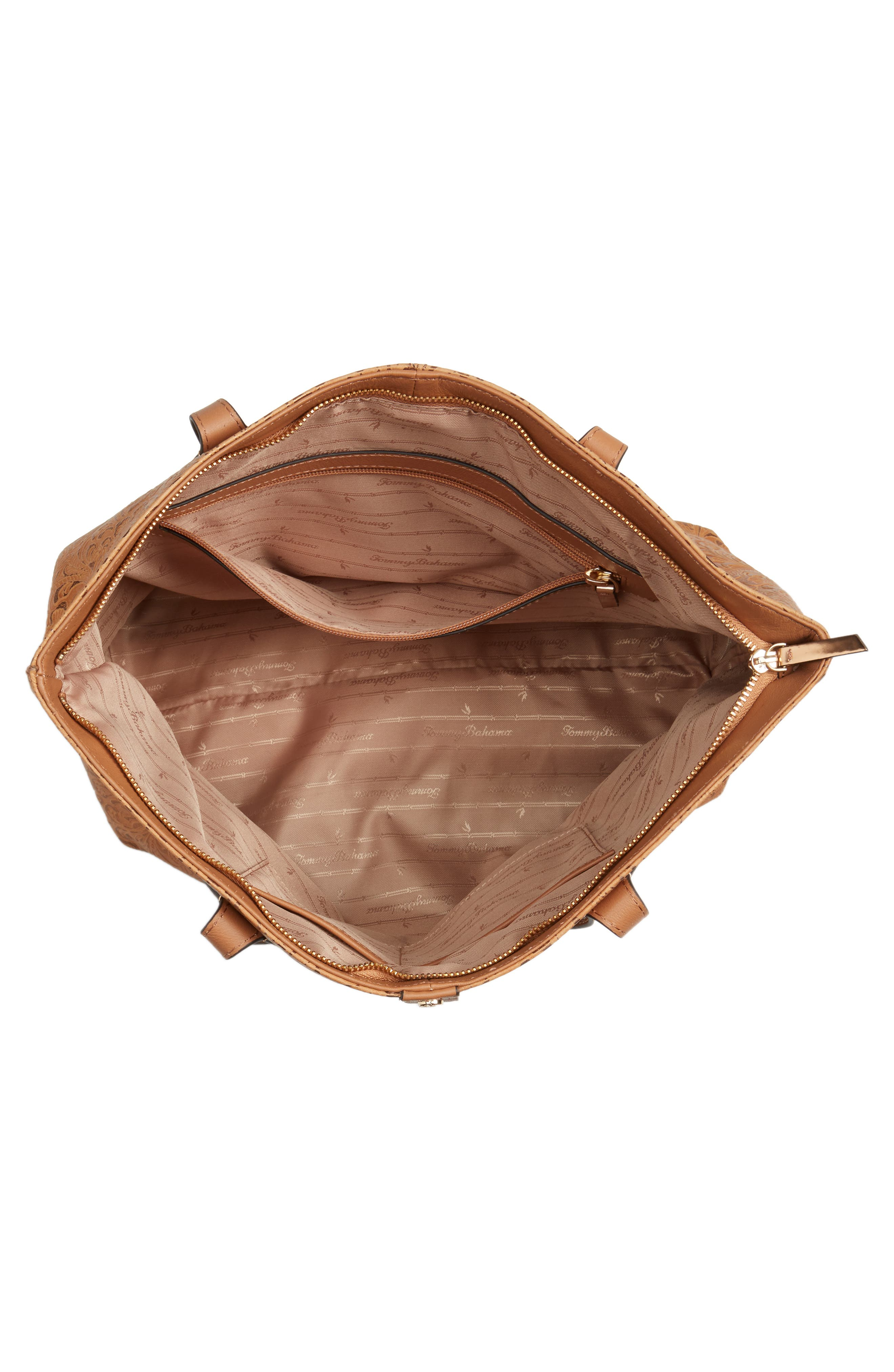 Alternate Image 3  - Tommy Bahama Barbados Leather Tote