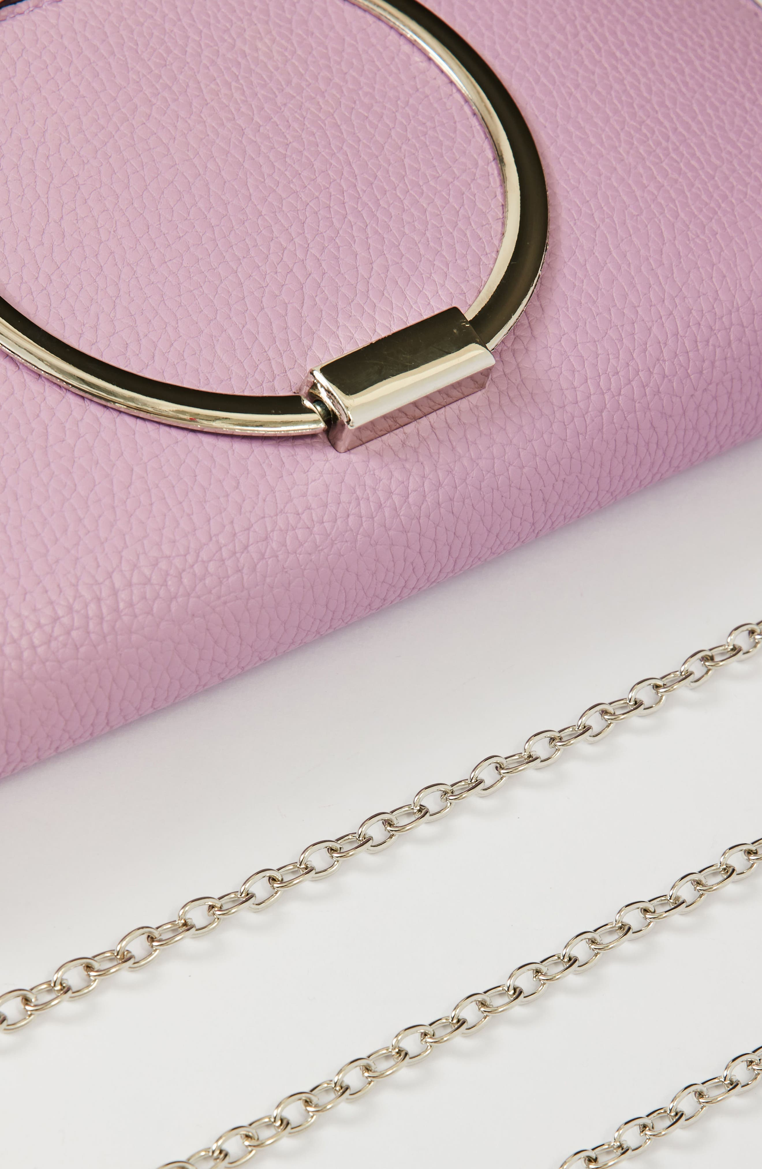 Alternate Image 4  - Missguided Circle Handle Clutch