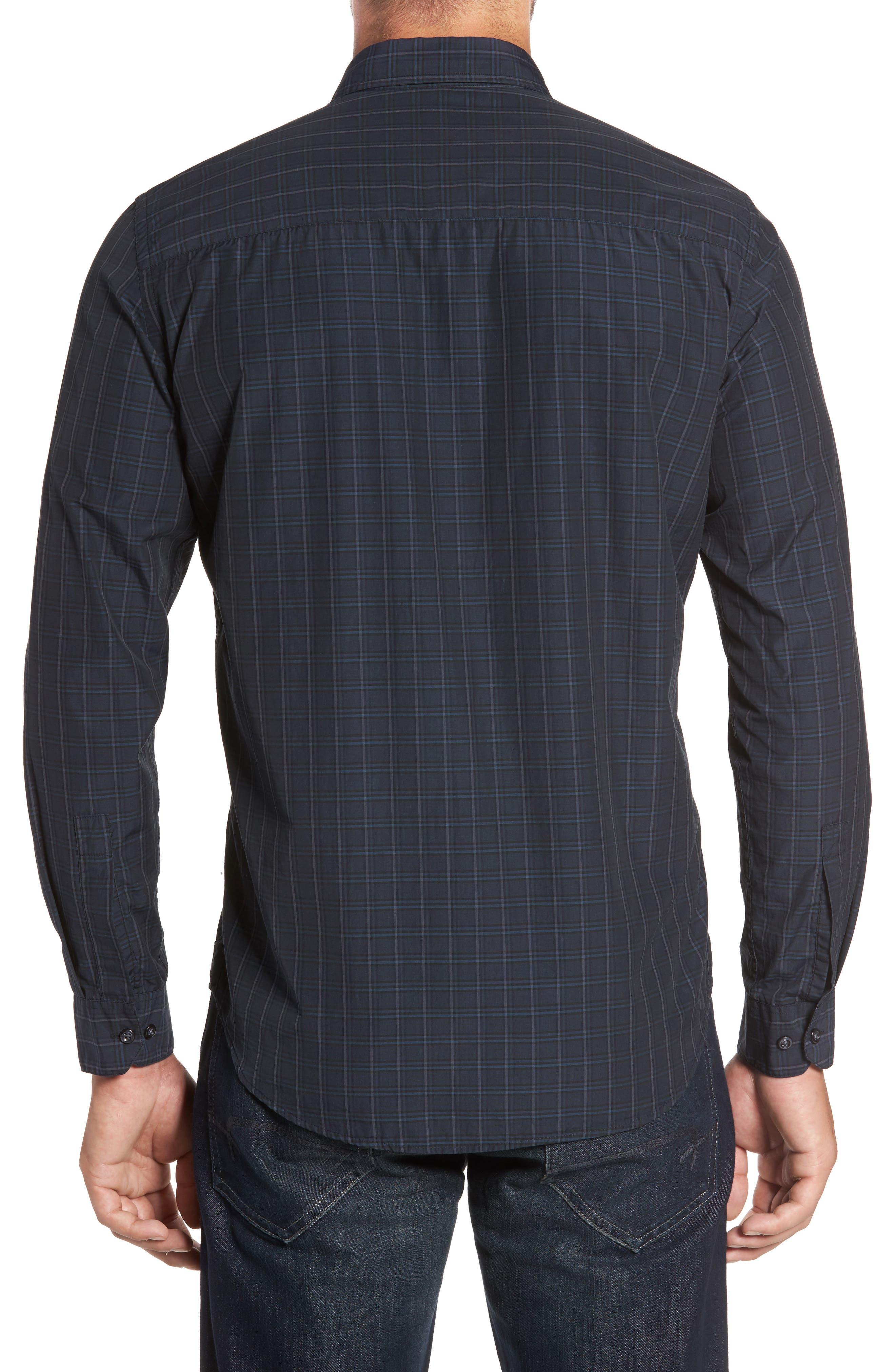 Alternate Image 2  - Robert Barakett Charleston Regular Fit Plaid Sport Shirt