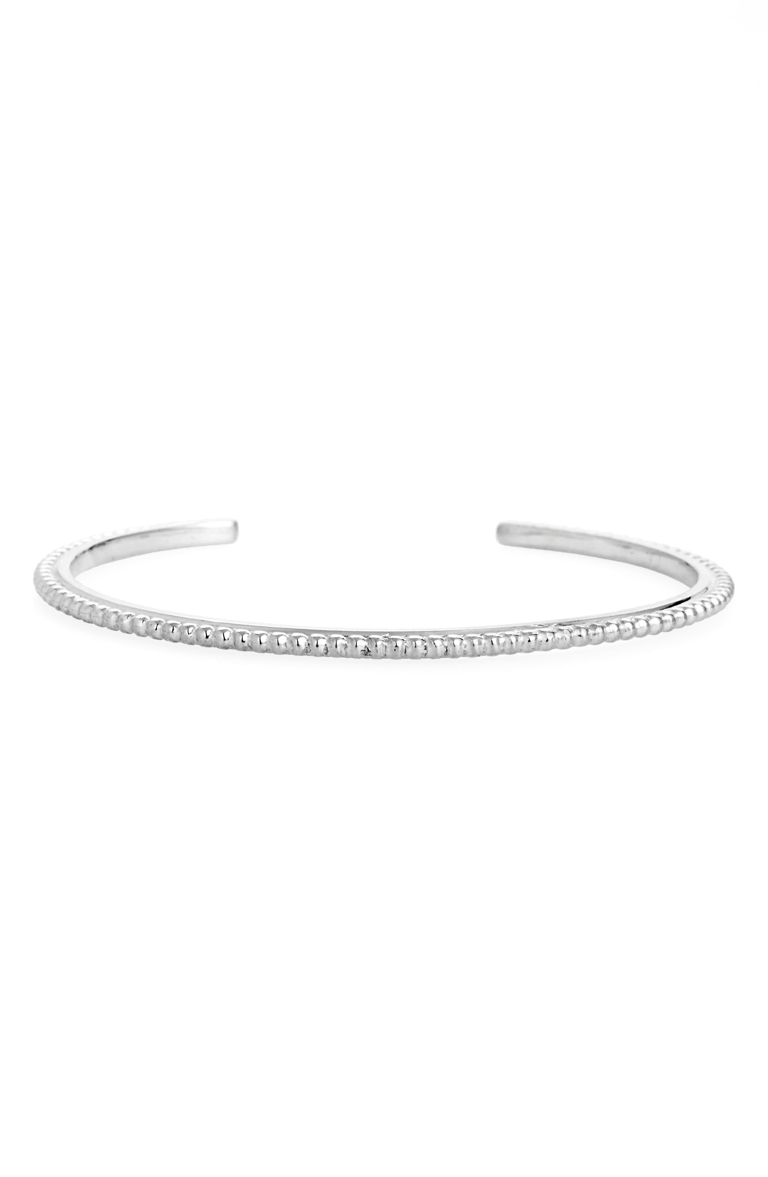 Shinola Coin Edge Cuff Bracelet