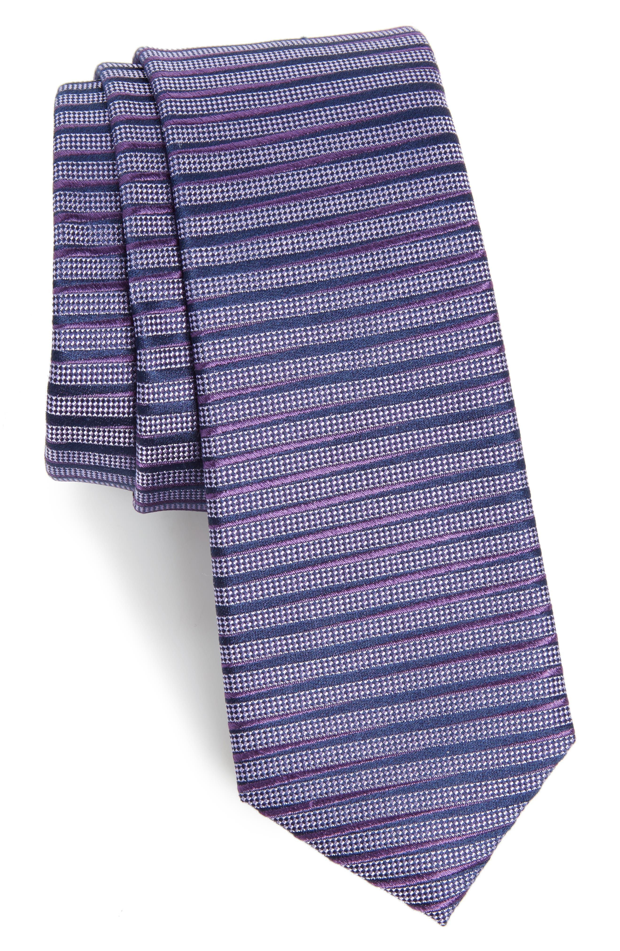 Alternate Image 1 Selected - Calibrate Brewer Stripe Silk Tie