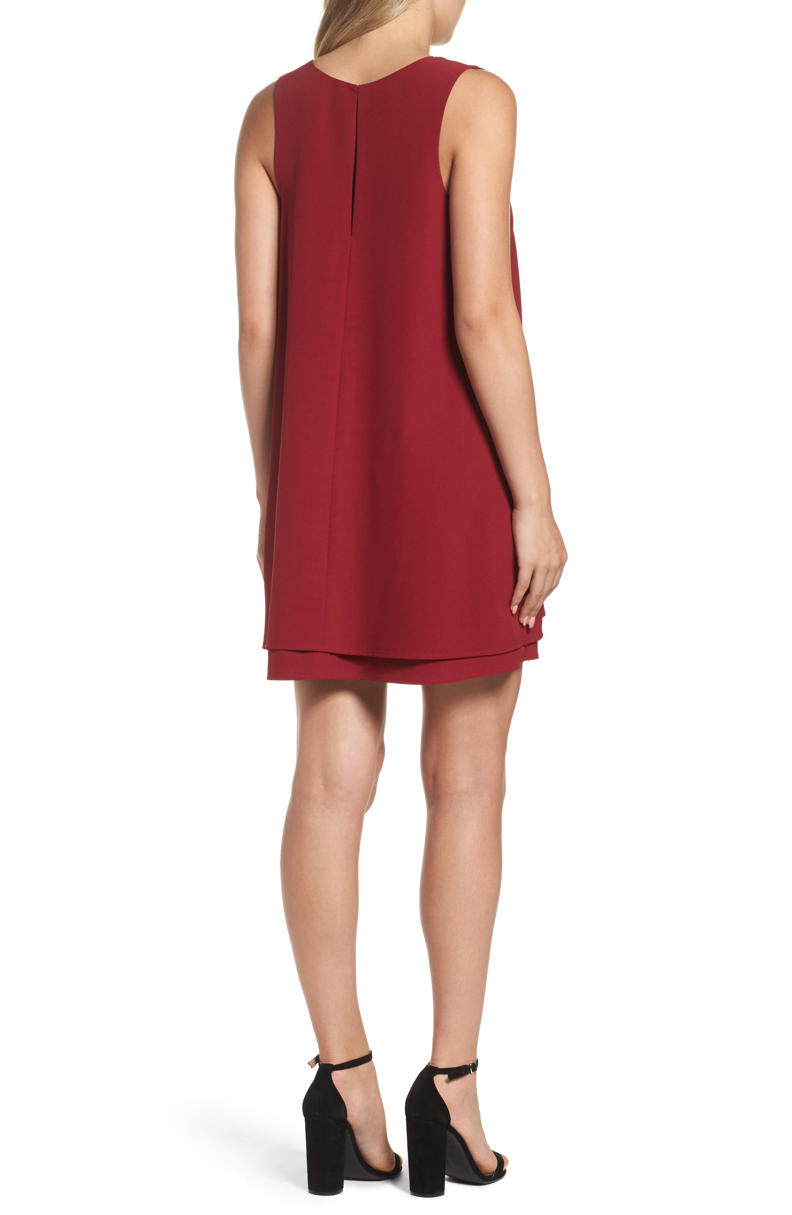 Alternate Image 2  - BB Dakota 'Palma' Crepe Shift Dress