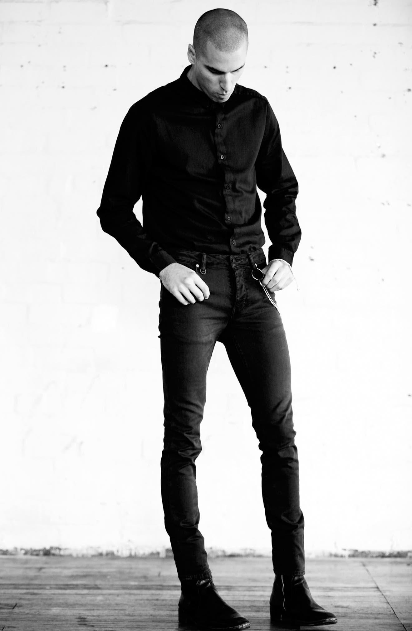 Alternate Image 7  - Neuw Iggy Skinny Jeans (Raw Stretch)