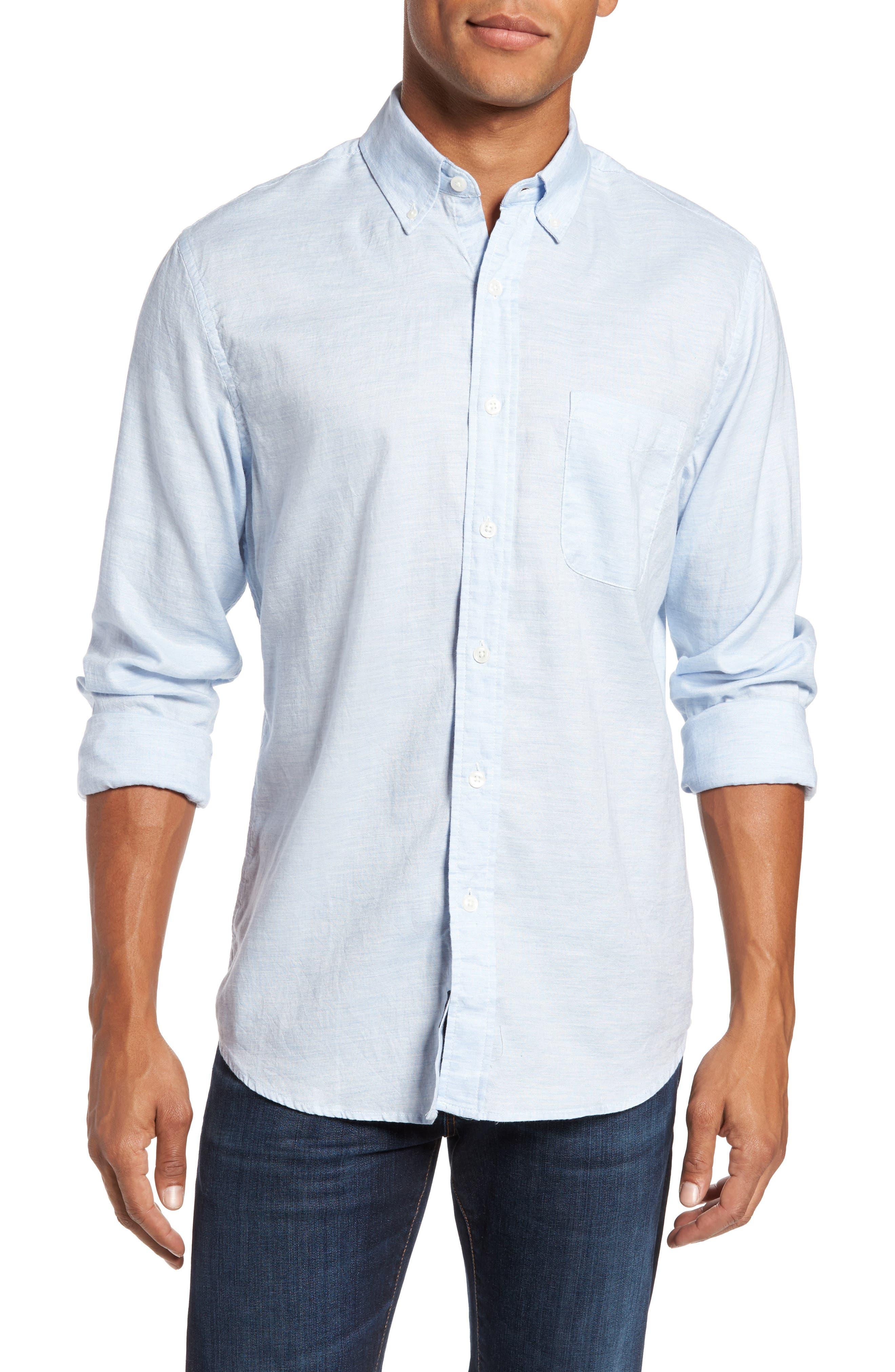 Faherty Ventura Slim Fit Oxford Sport Shirt