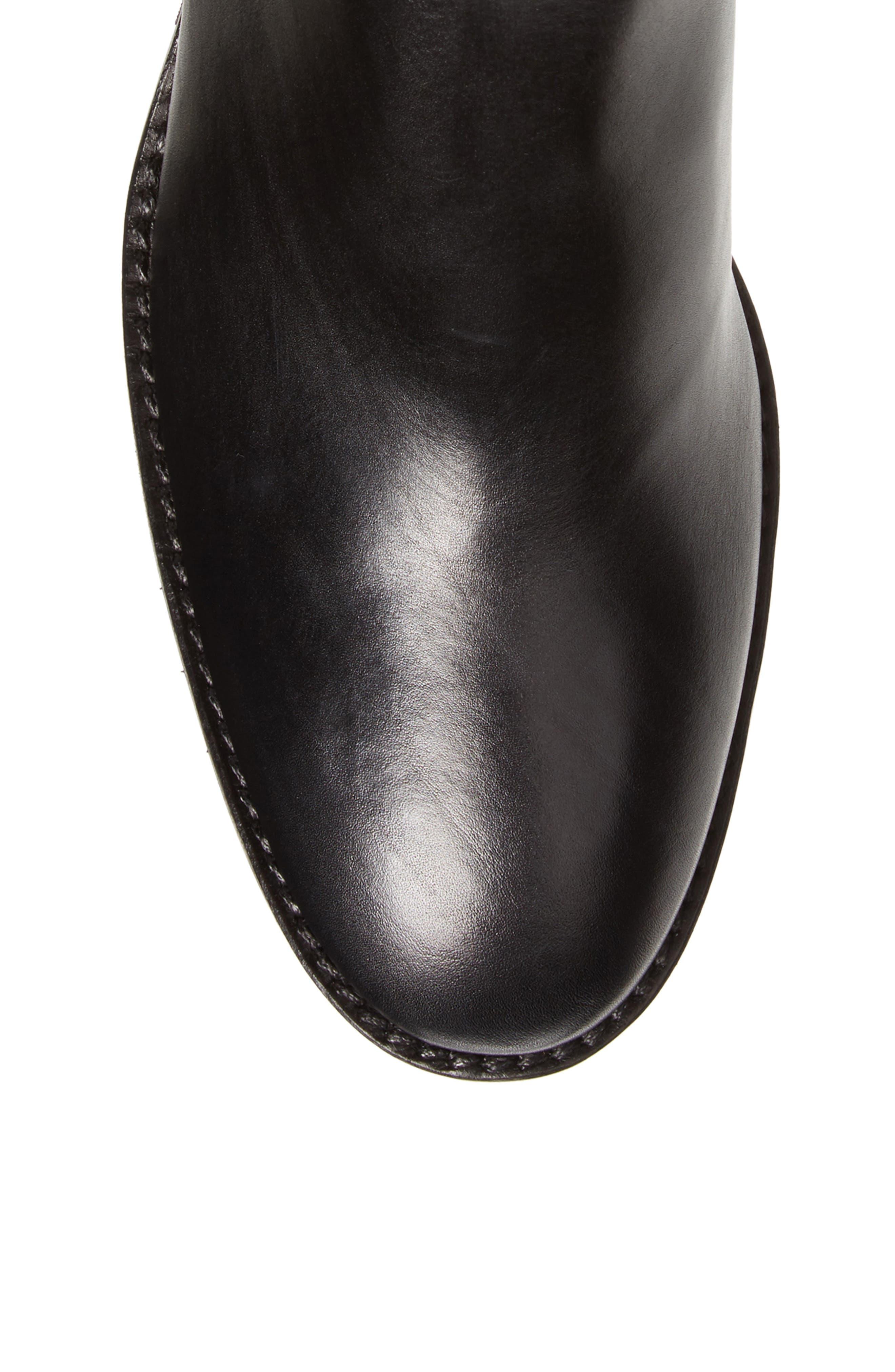 Joanna Weatherproof Tall Boot,                             Alternate thumbnail 5, color,                             Black
