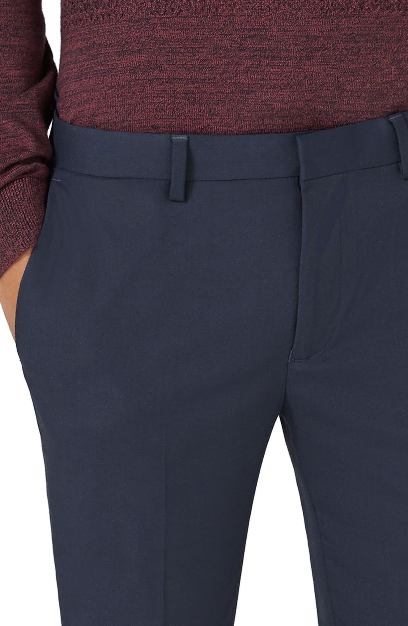 Alternate Image 3  - Topman Ultra Skinny Fit Trousers