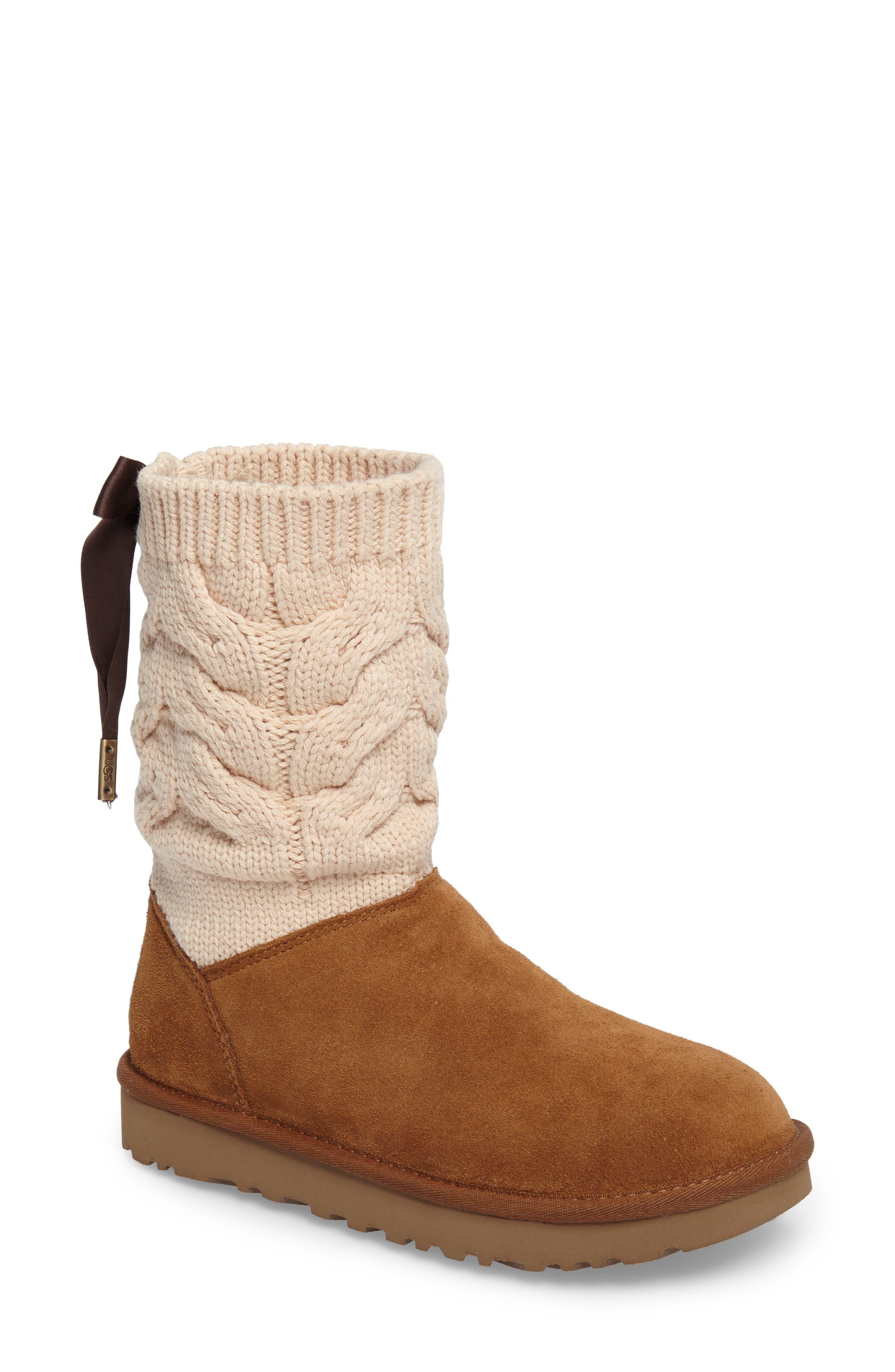 Kiandra Boot,                         Main,                         color, Chestnut Suede