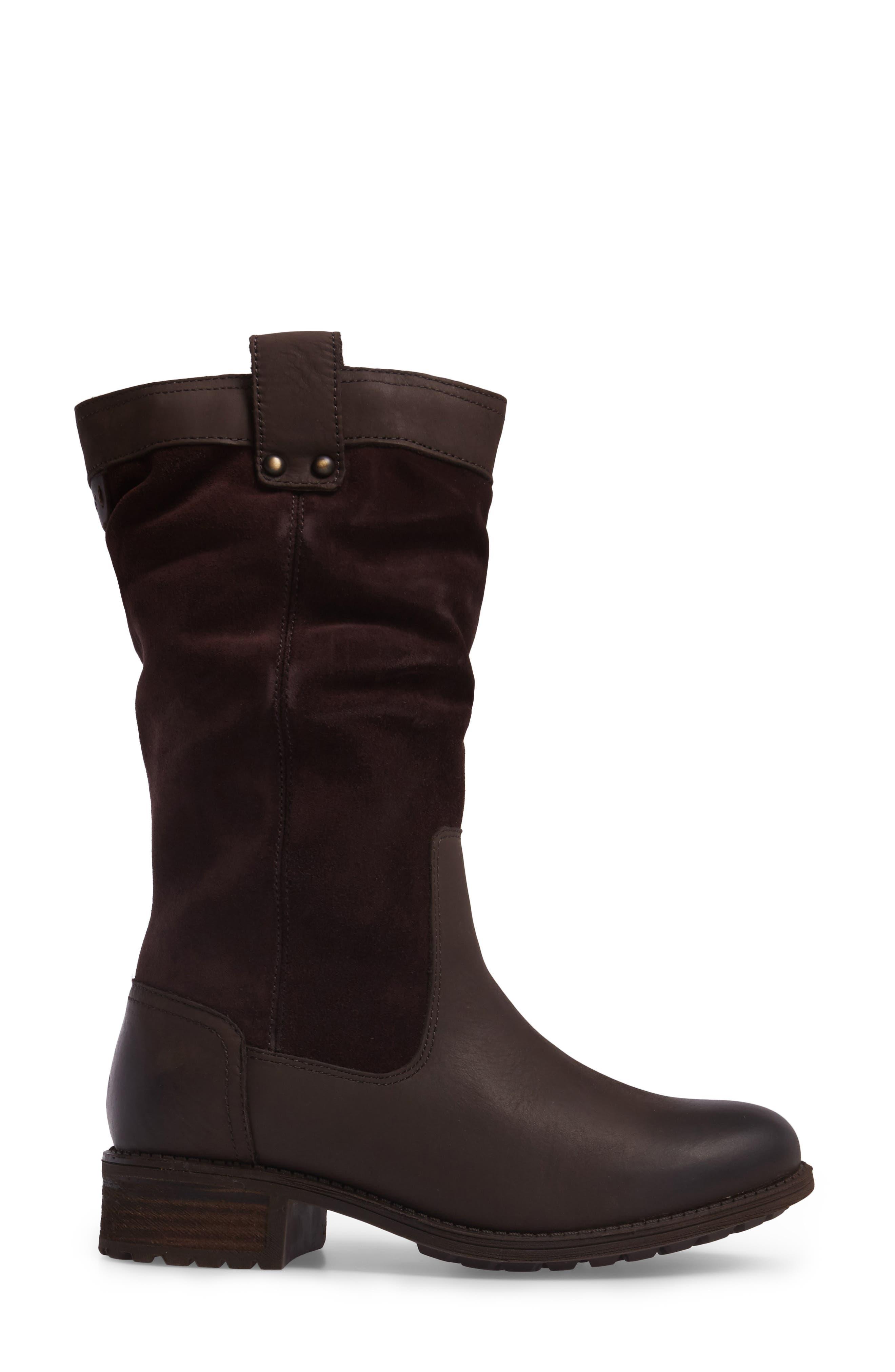Alternate Image 3  - UGG® Bruckner Water Resistant Slouch Boot (Women)
