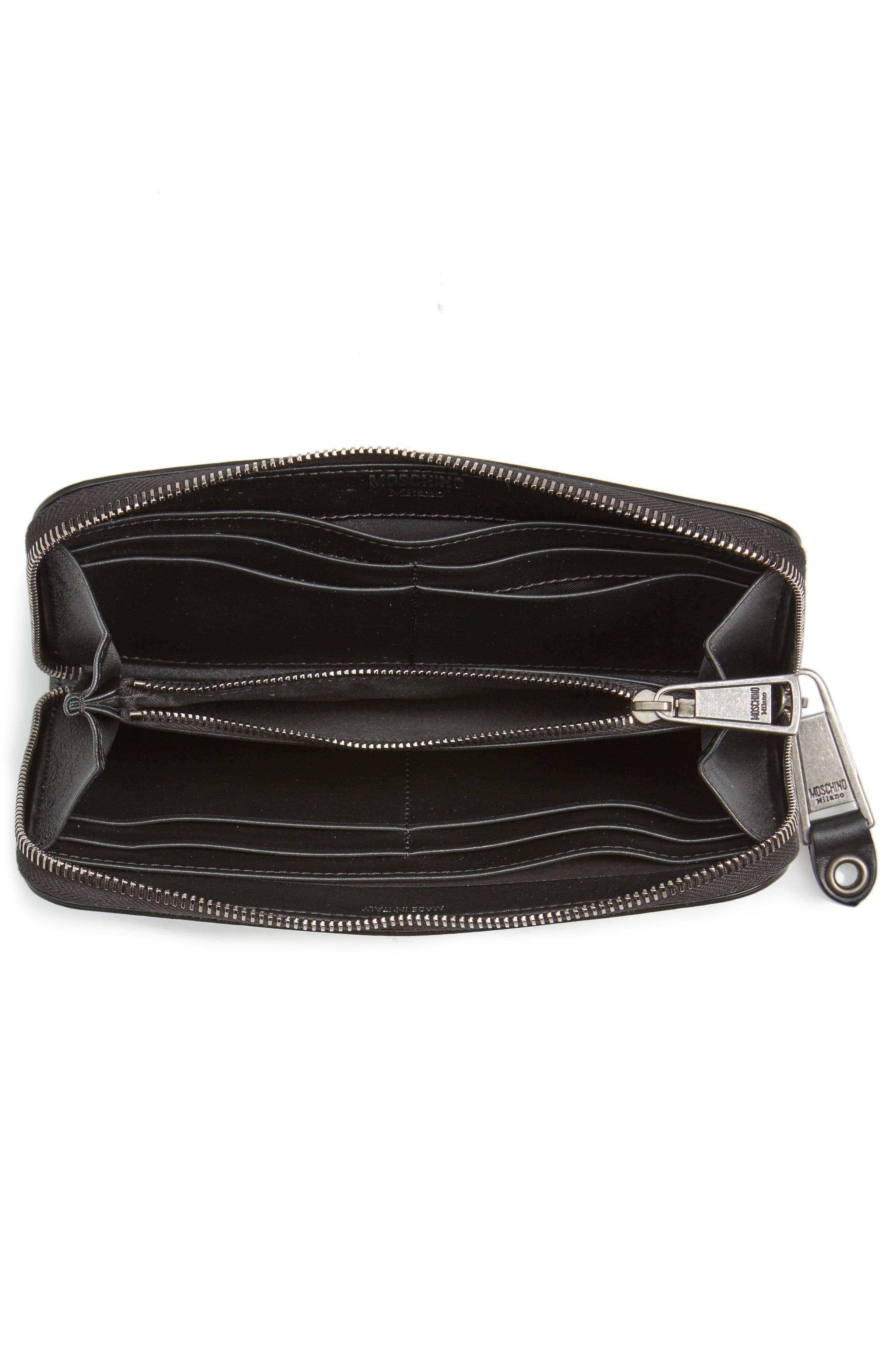 Alternate Image 2  - Moschino Zip Around Camo Wristlet