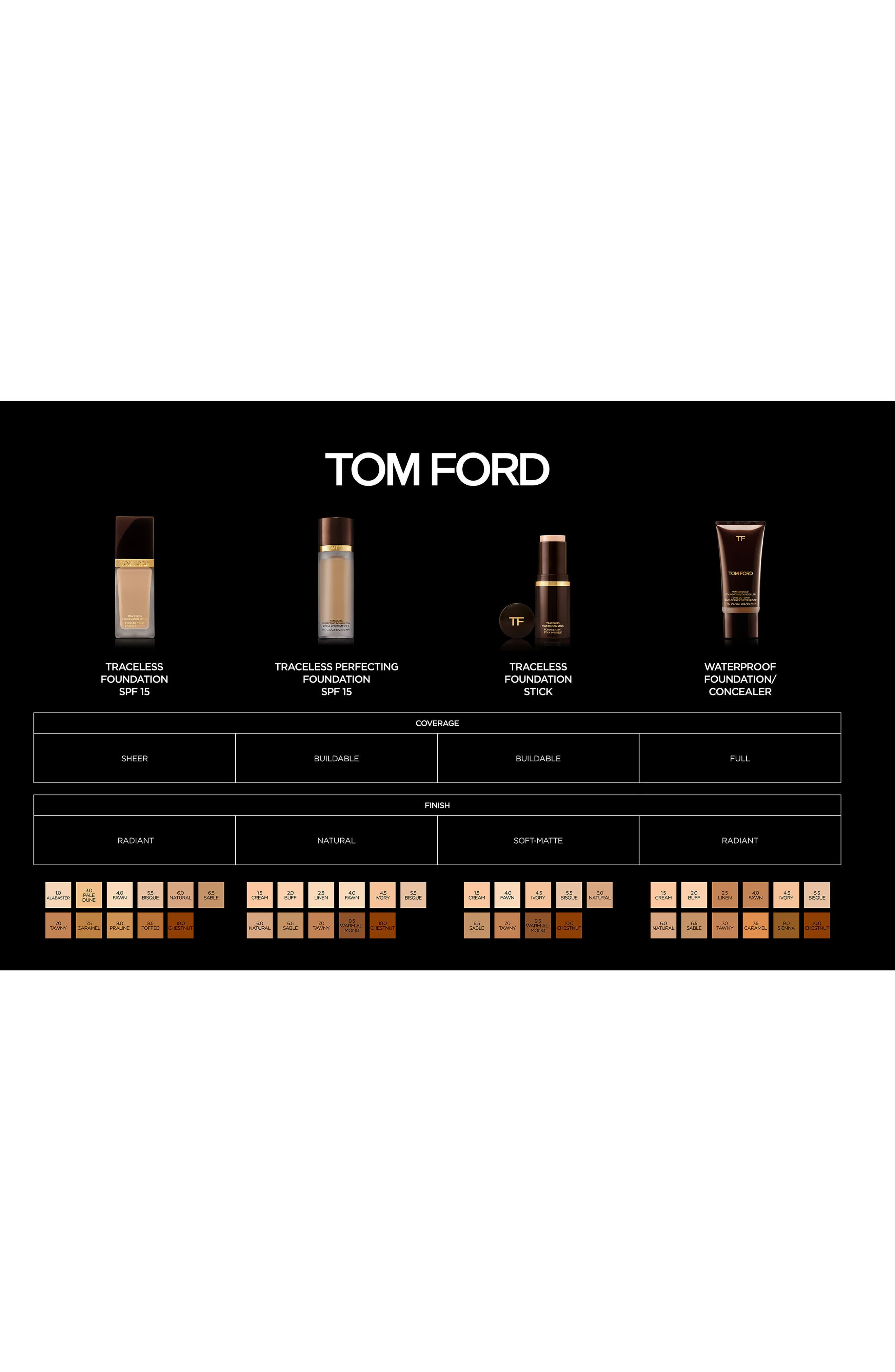 Alternate Image 3  - Tom Ford Traceless Perfecting Foundation SPF 15