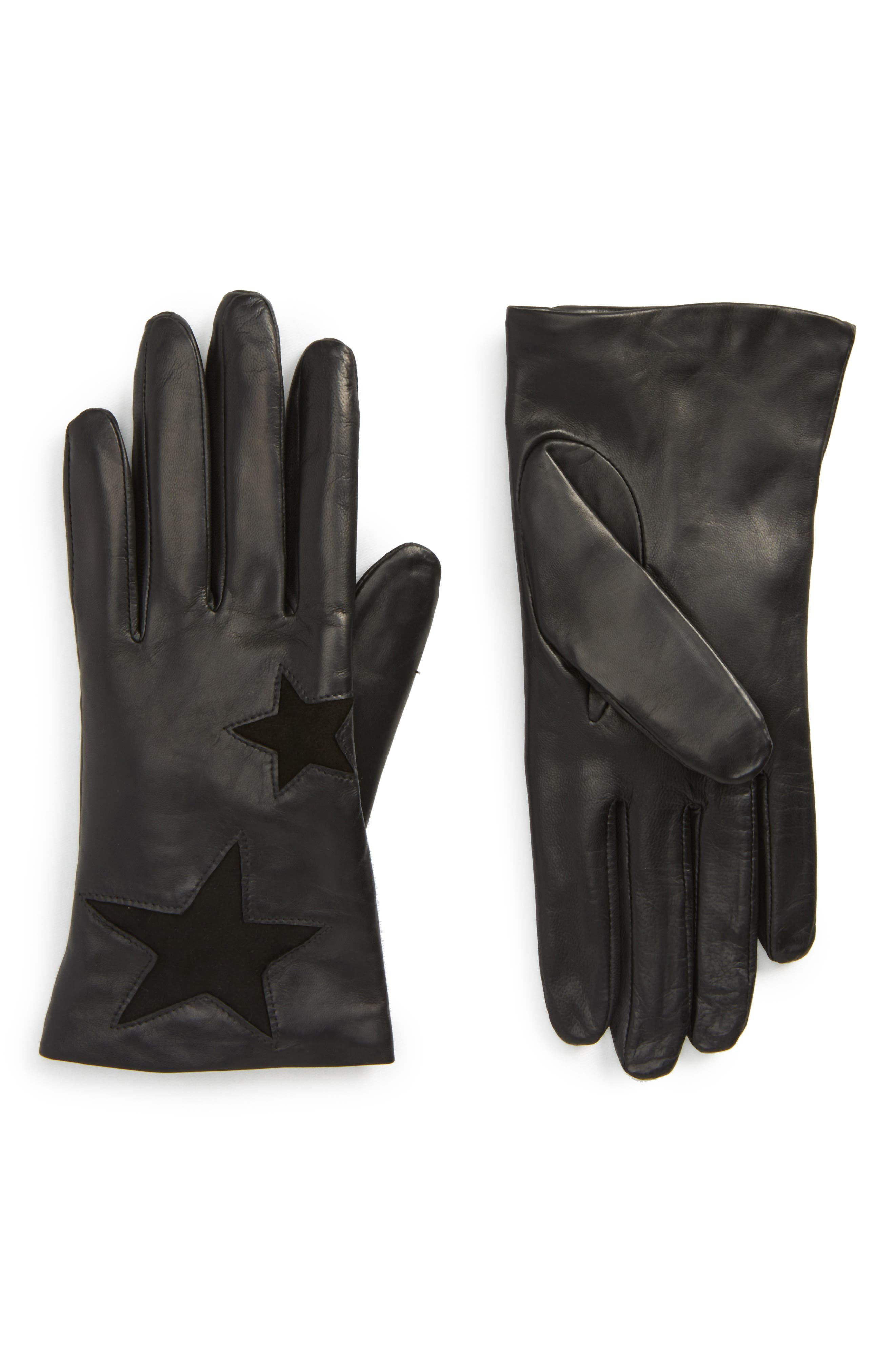 Fownes Brothers Star Leather Gloves