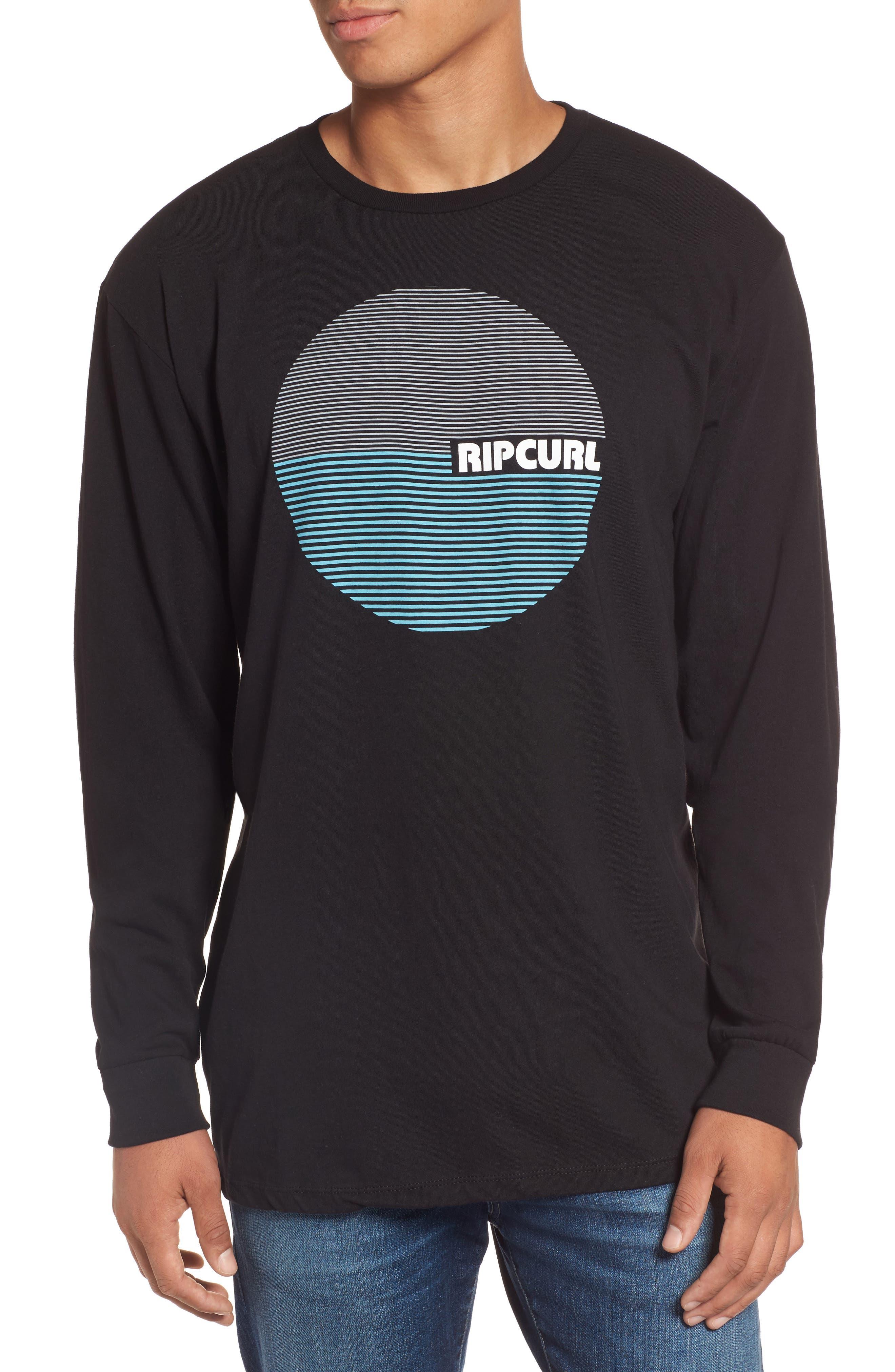 Rip Curl Terra Custom Long Sleeve Graphic T-Shirt