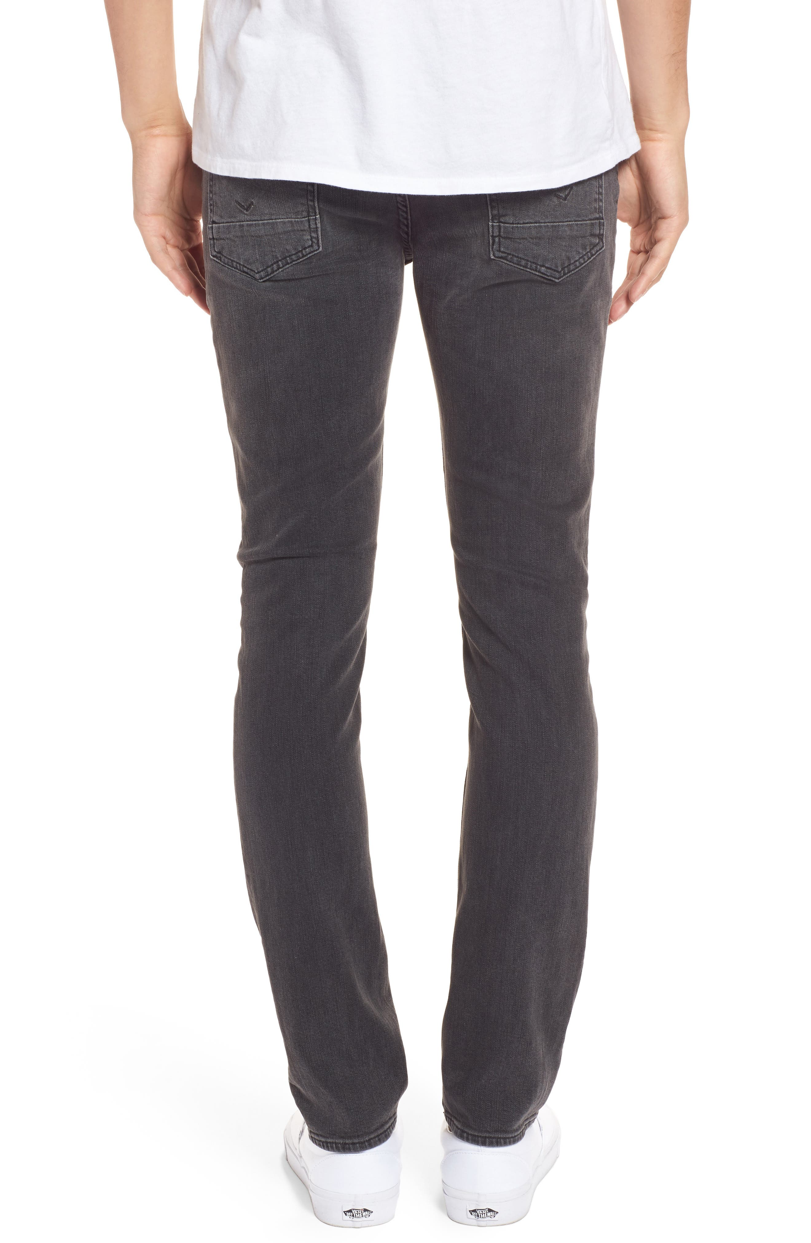 Axl Skinny Fit Jeans,                             Alternate thumbnail 2, color,                             Oxidize