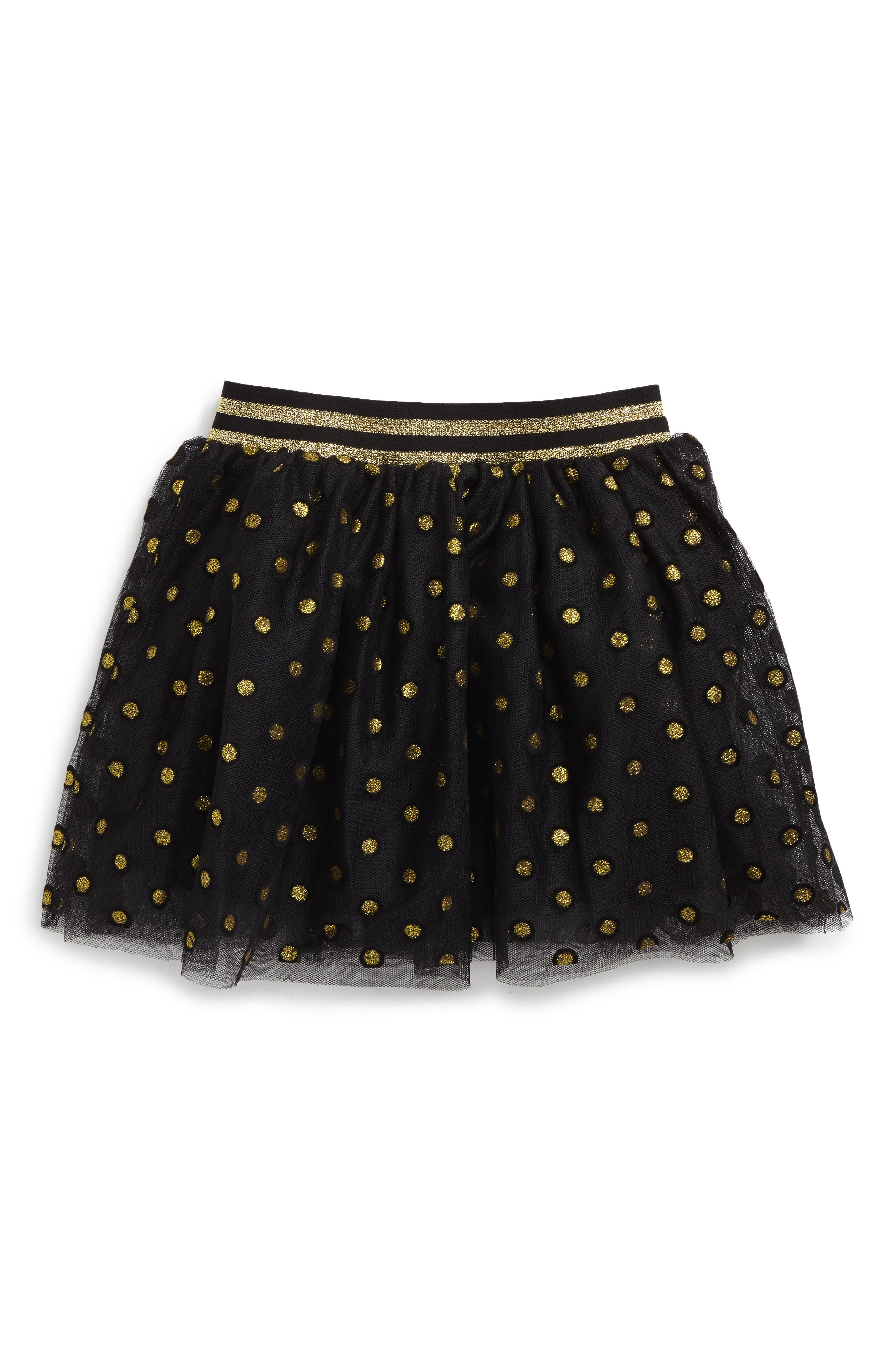 Alternate Image 1 Selected - Truly Me Sparkle Dot Tutu Skirt (Baby Girls)