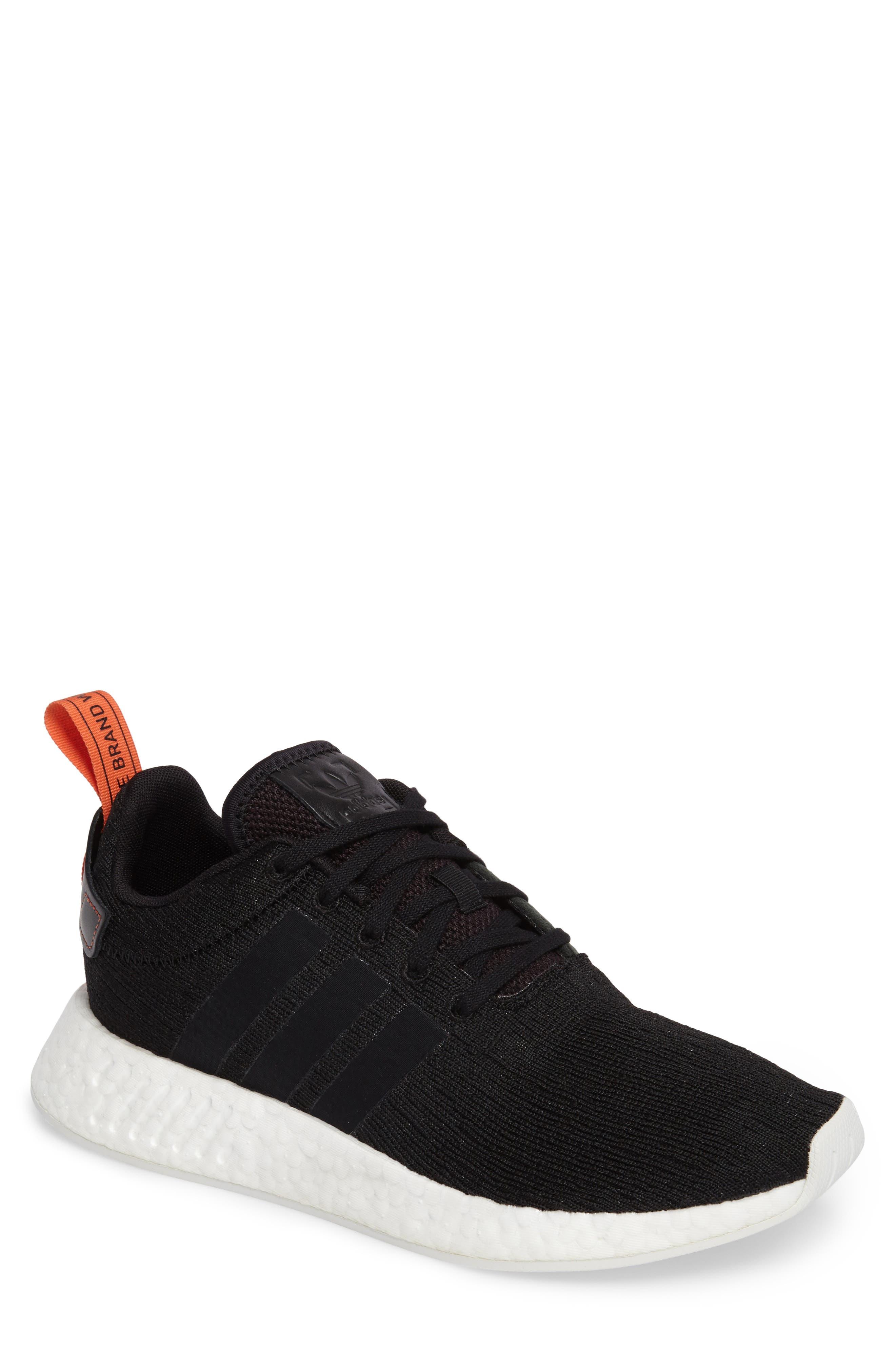 adidas black mens shoes