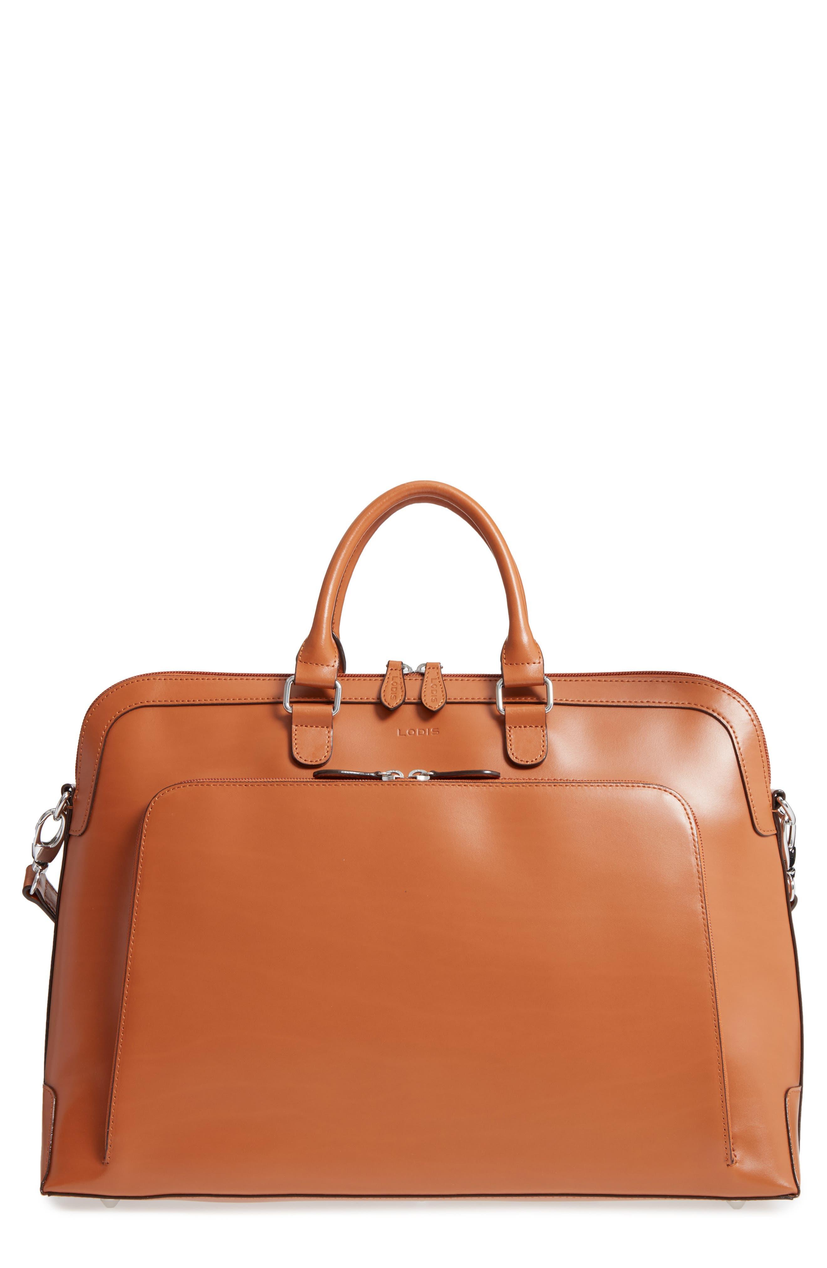 Lodis Brera Leather Briefcase