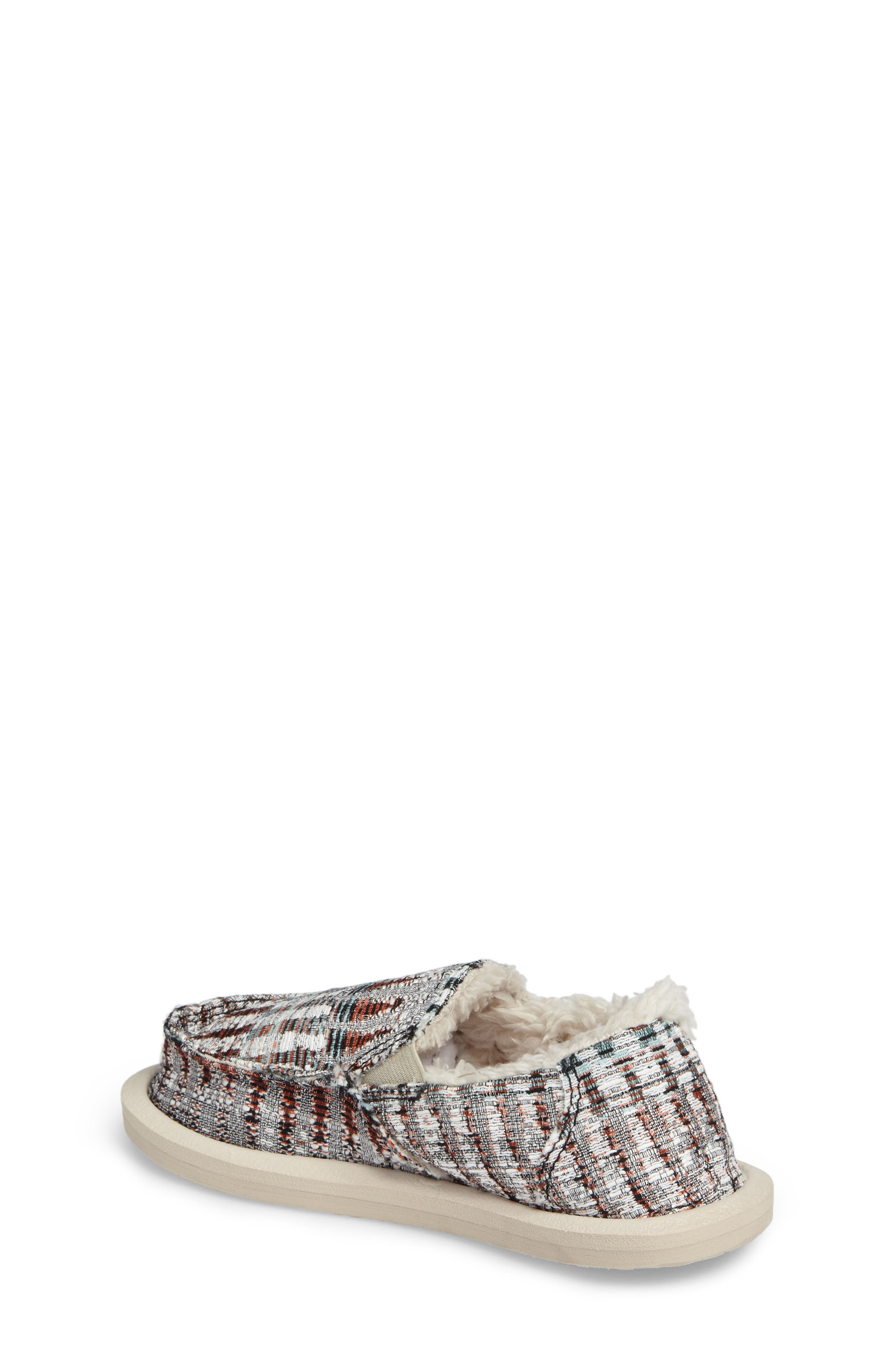 Lil Donna Ice Chill Faux Fur Slip-On,                             Alternate thumbnail 2, color,                             White