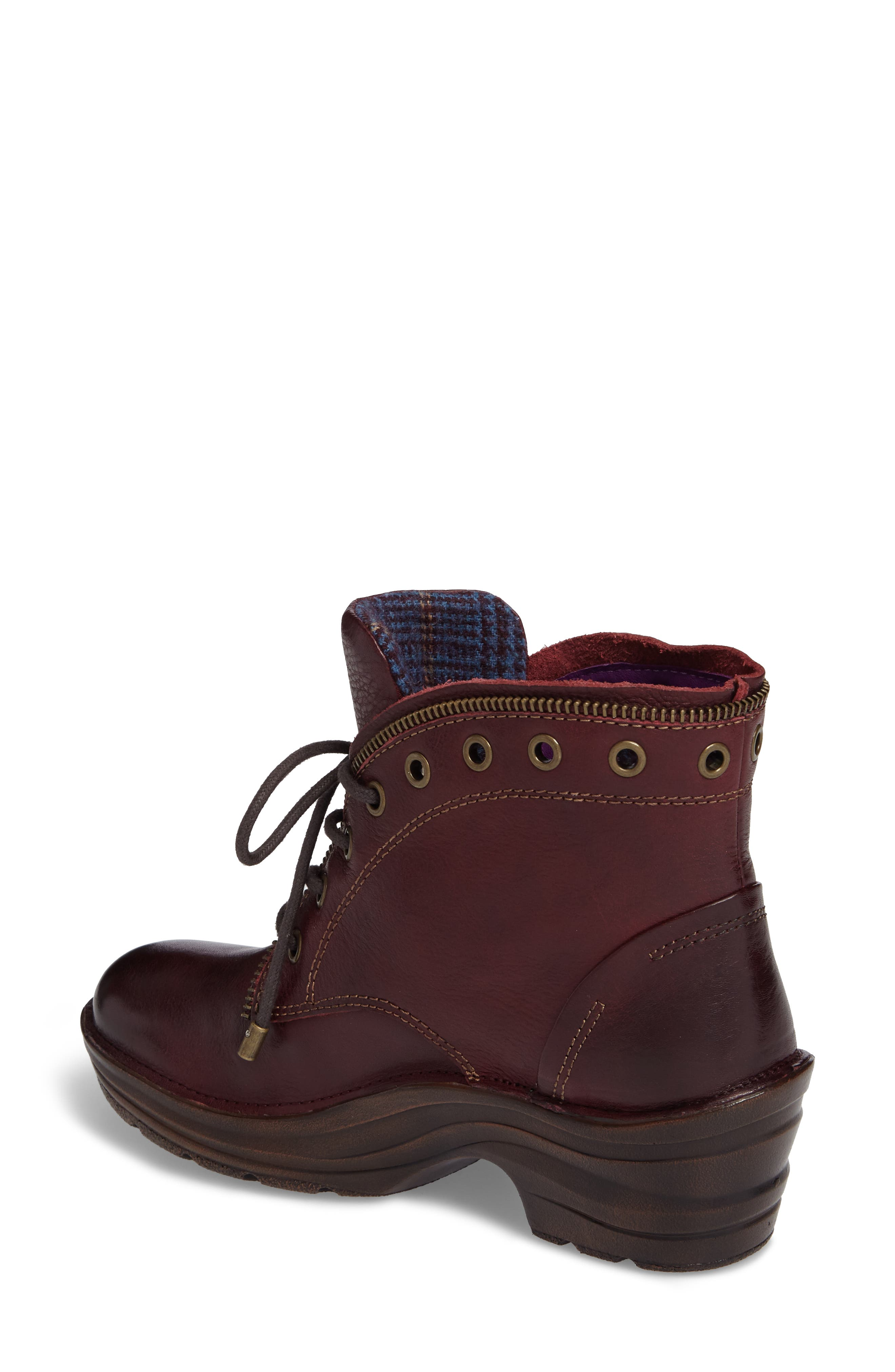 Rangely Boot,                             Alternate thumbnail 2, color,                             Marsala Red Leather