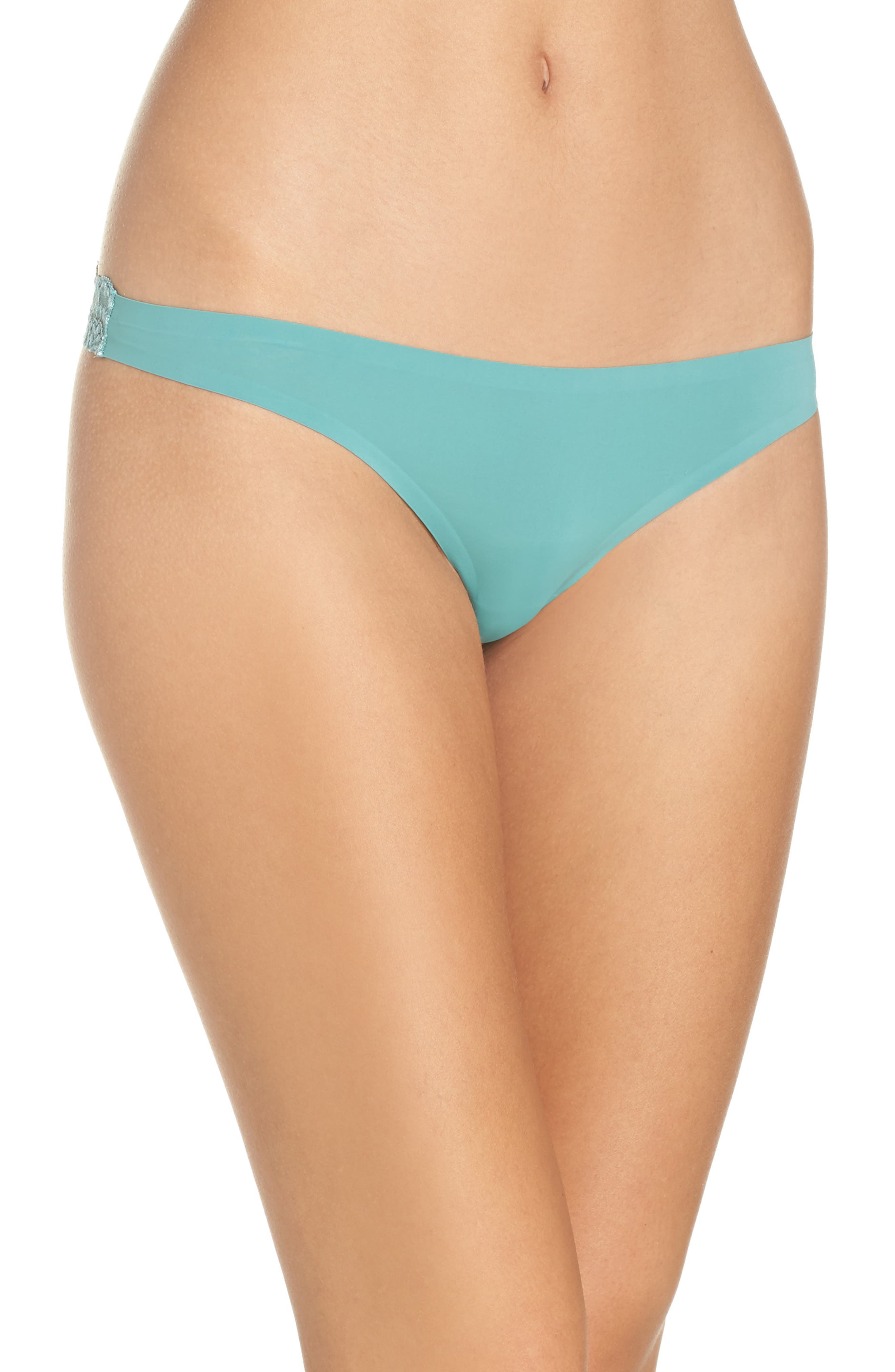 Intimately FP Smooth Thong,                             Main thumbnail 1, color,                             Mint