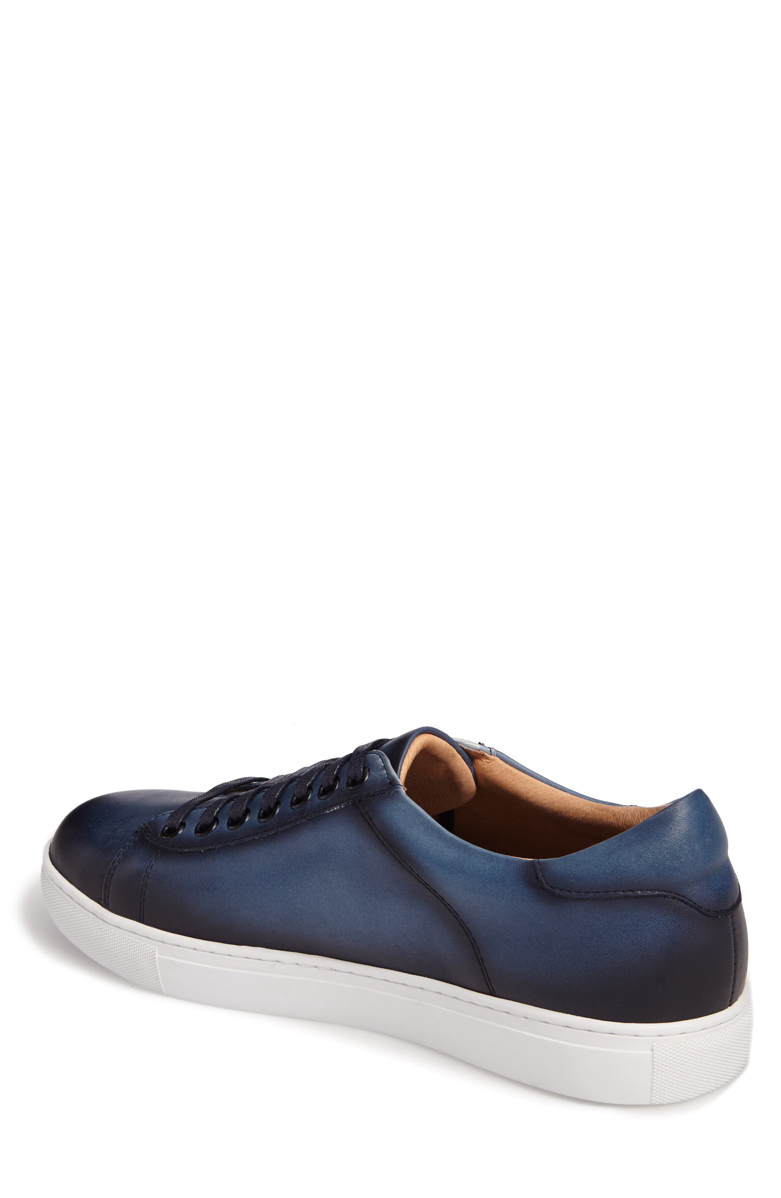 Penrose Sneaker,                             Alternate thumbnail 2, color,                             Blue Leather