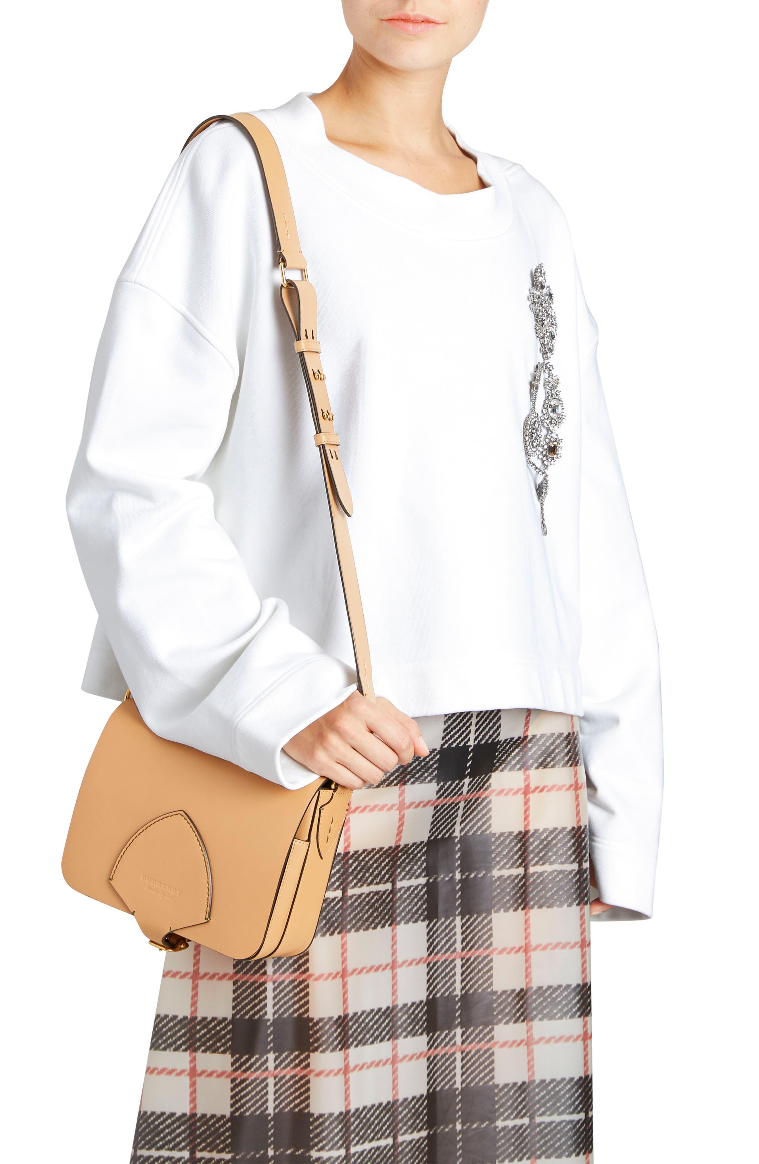 Alternate Image 2  - Burberry Leather Shoulder Bag