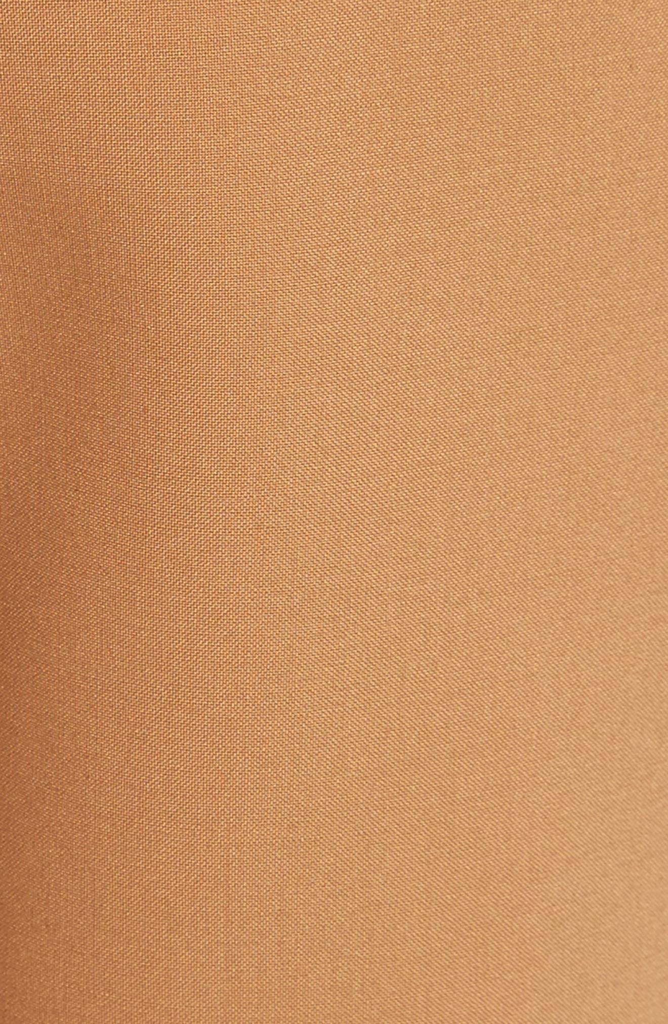 Fourth Element Crop Flare Pants,                             Alternate thumbnail 5, color,                             Camel
