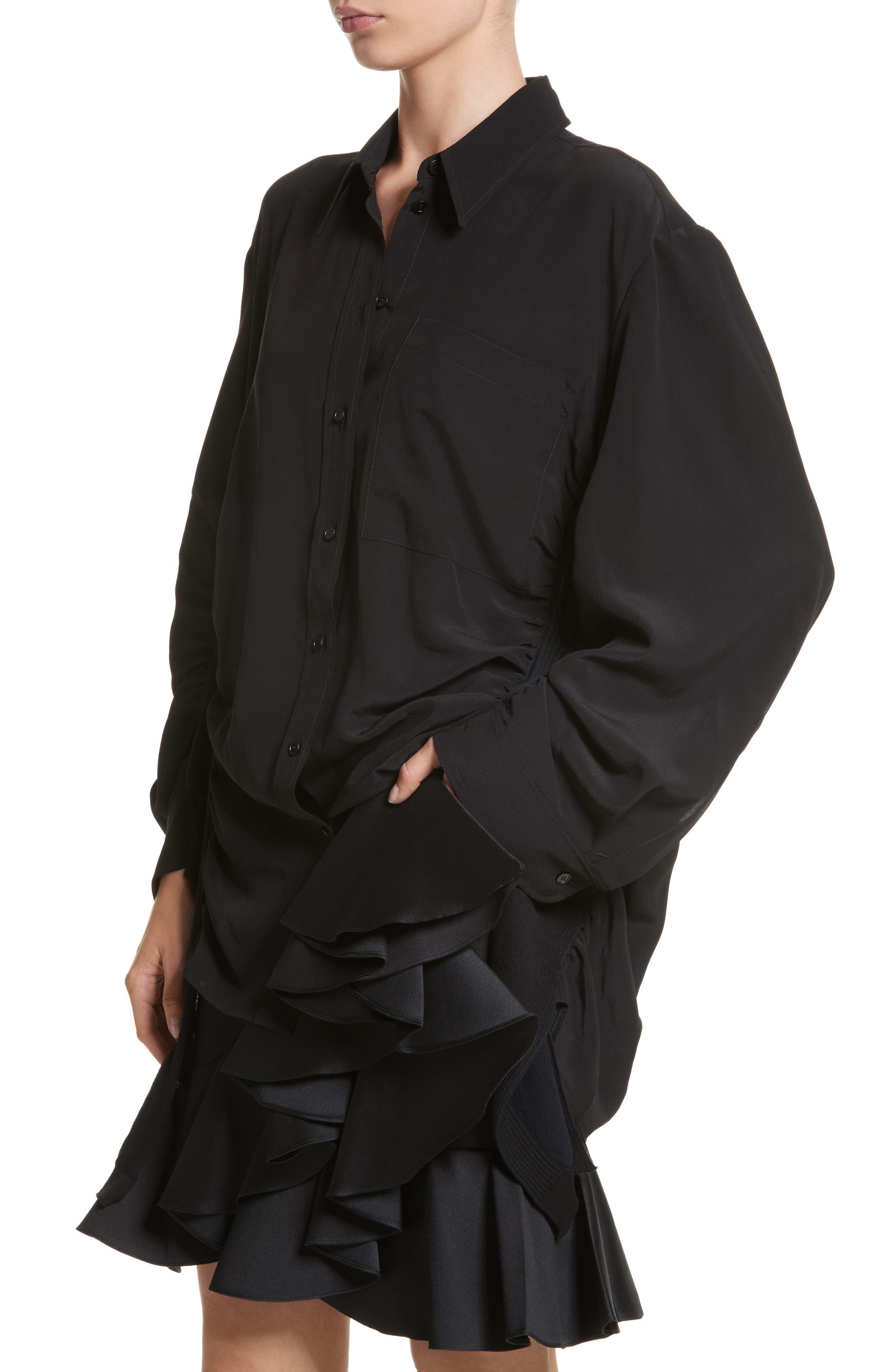 Alternate Image 3  - Stella McCartney Cutaway Silk Blouse