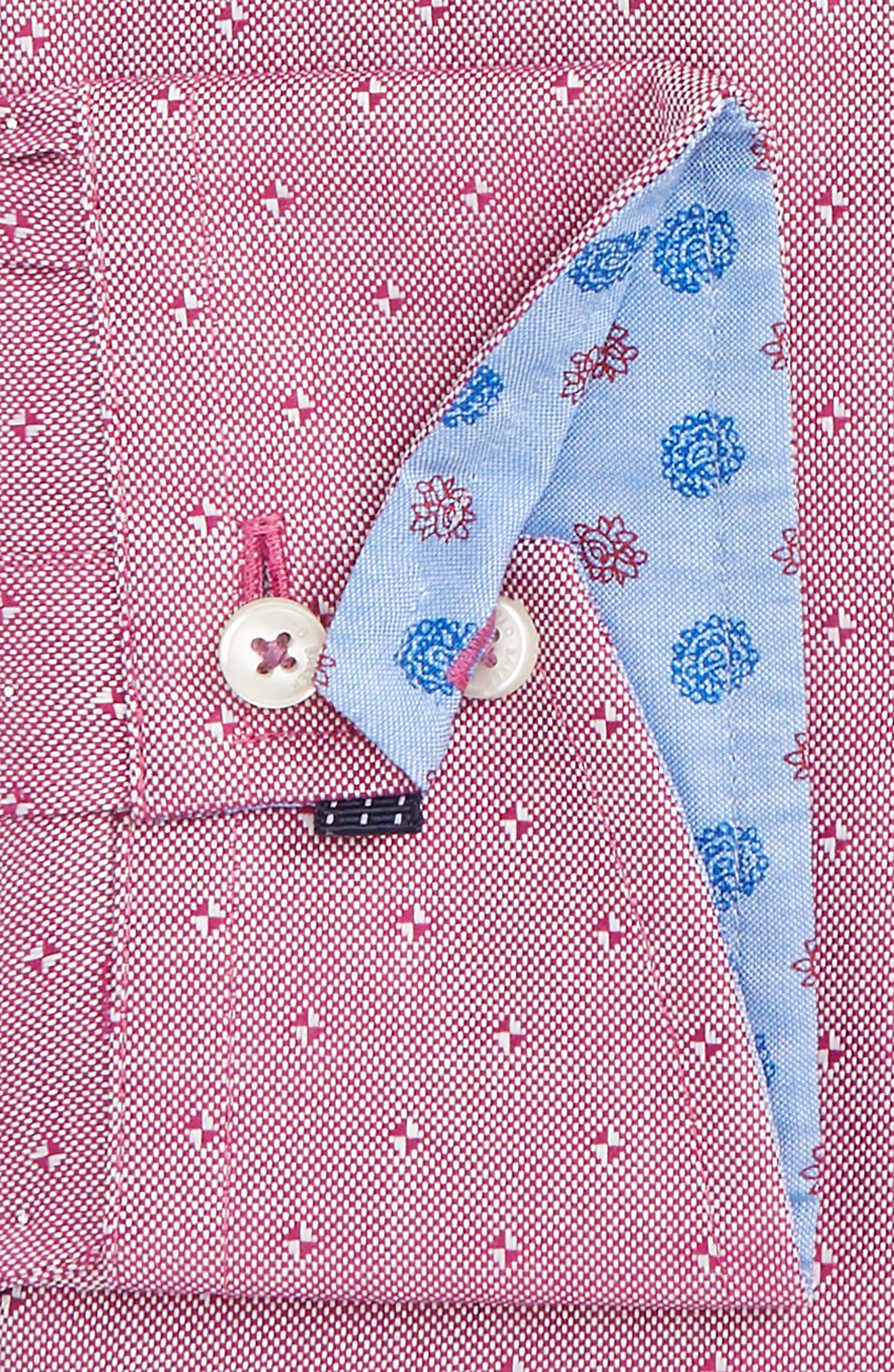Alternate Image 2  - Ted Baker London Jamer Trim Fit Dot Dress Shirt
