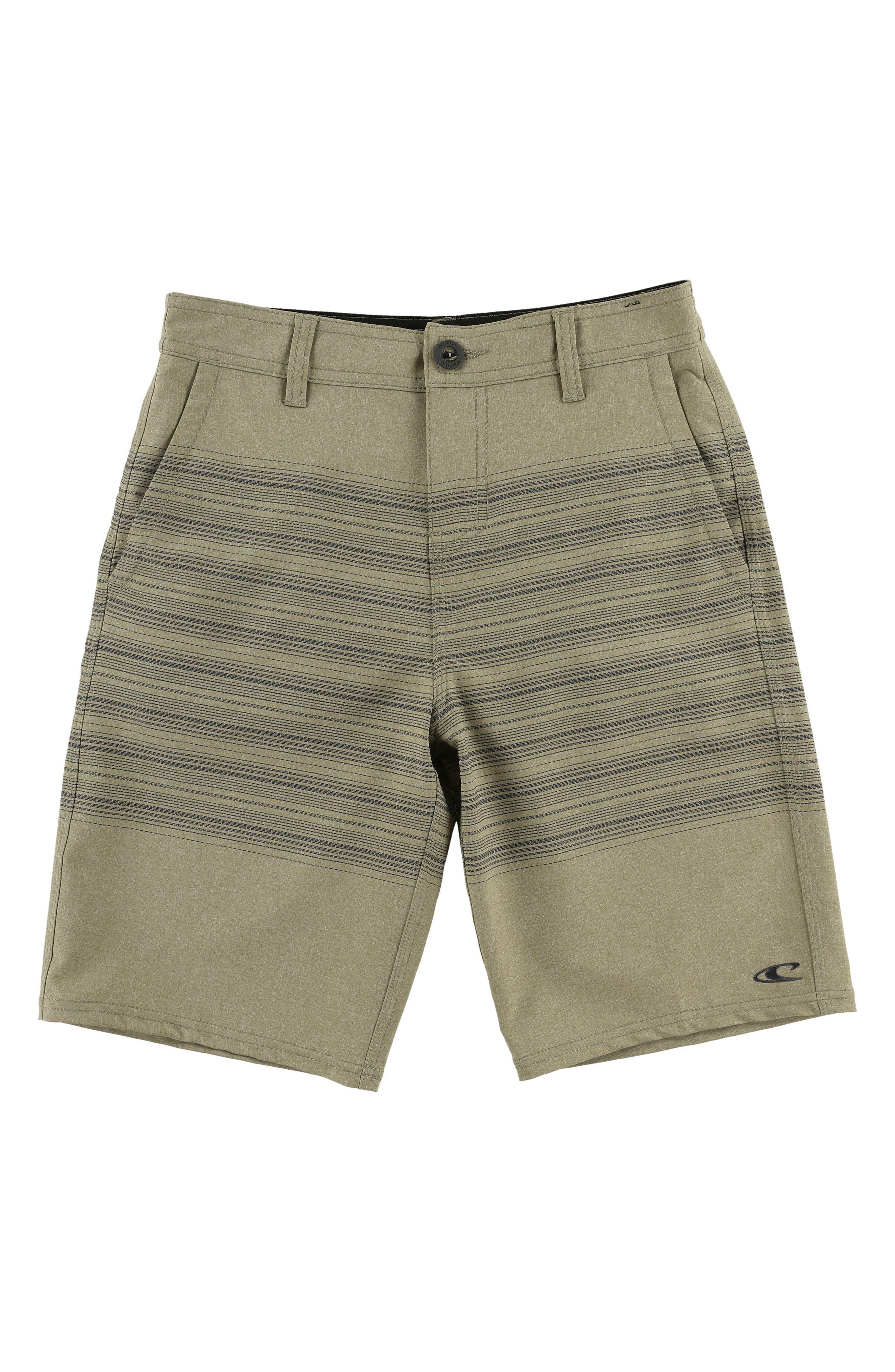 Loaded Schematic Hybrid Board Shorts,                         Main,                         color, Khaki