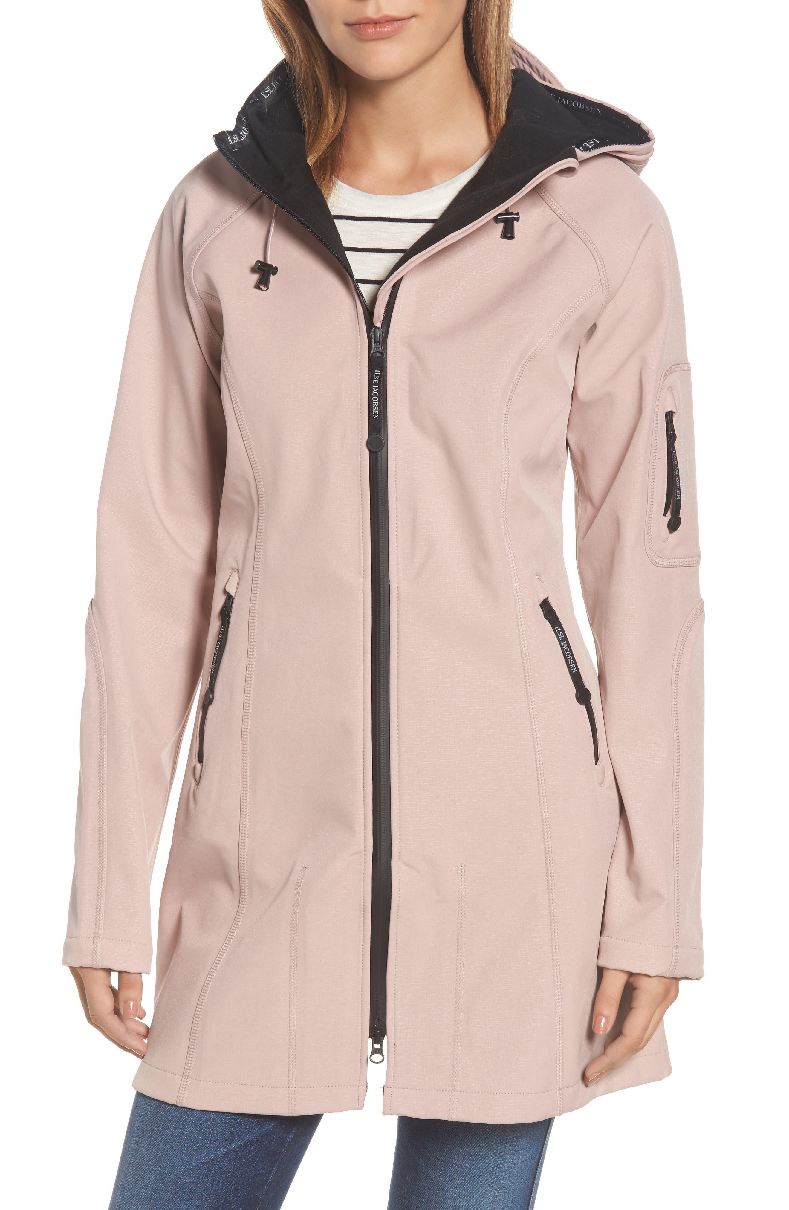 Ilse Jacobsen Regular Fit Hooded Raincoat