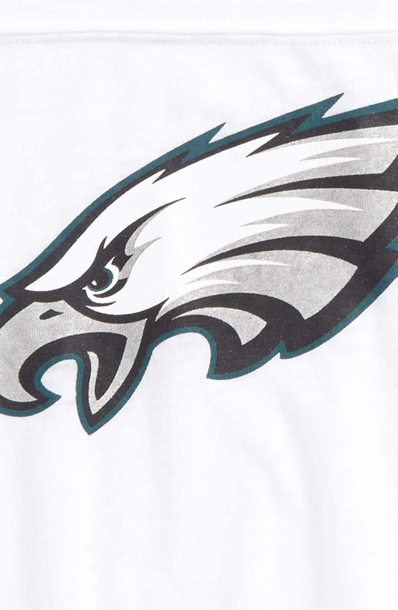 Alternate Image 2  - Outerstuff Philadelphia Eagles Team Pride Tee (Big Girls)