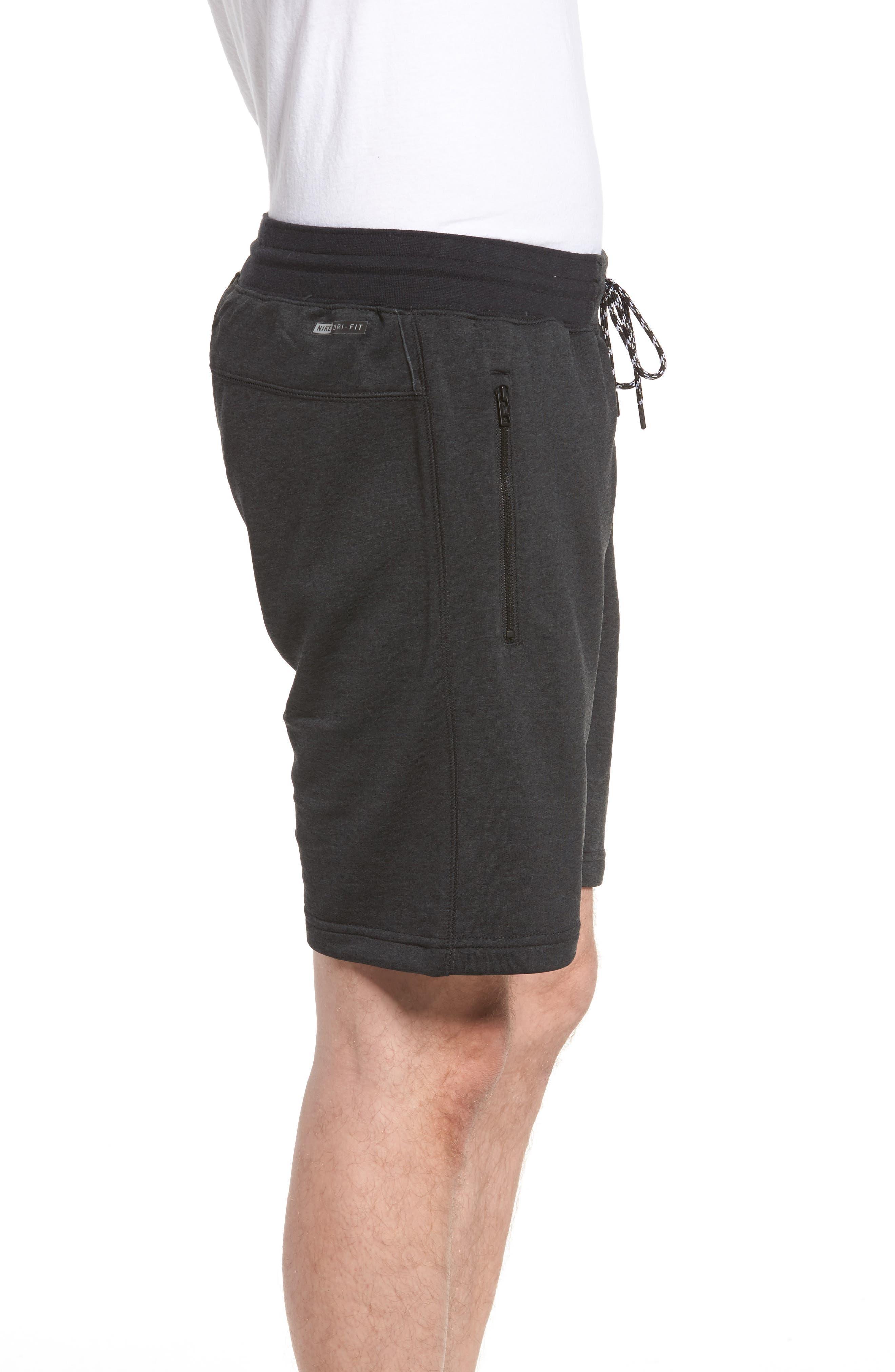 Dri-FIT Solar Shorts,                             Alternate thumbnail 3, color,                             Black