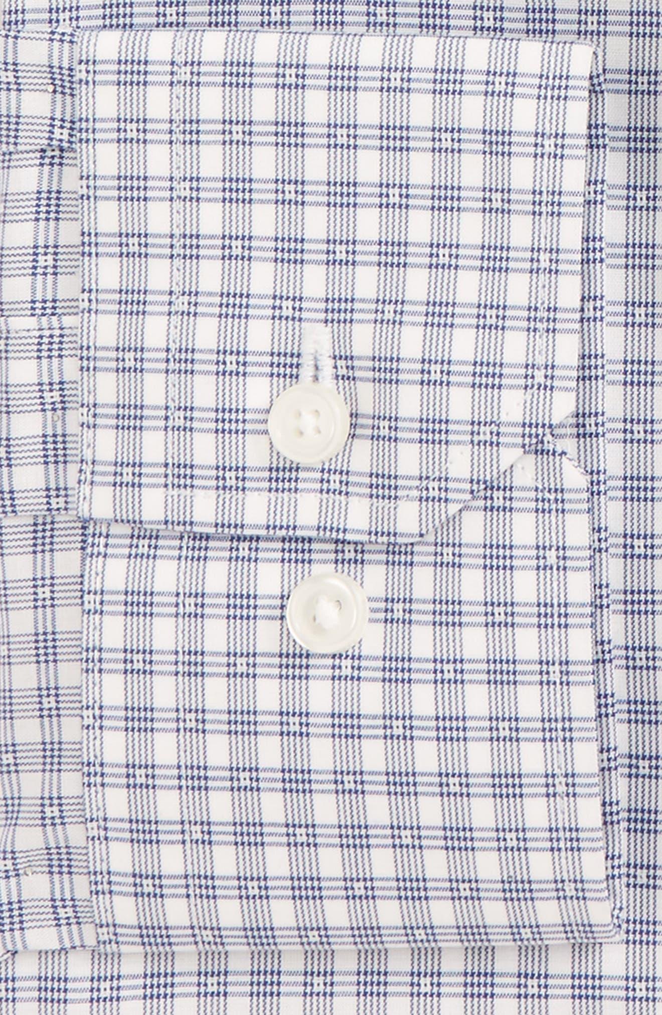 Alternate Image 2  - Calibrate Trim Fit Non-Iron Stretch Check Dress Shirt