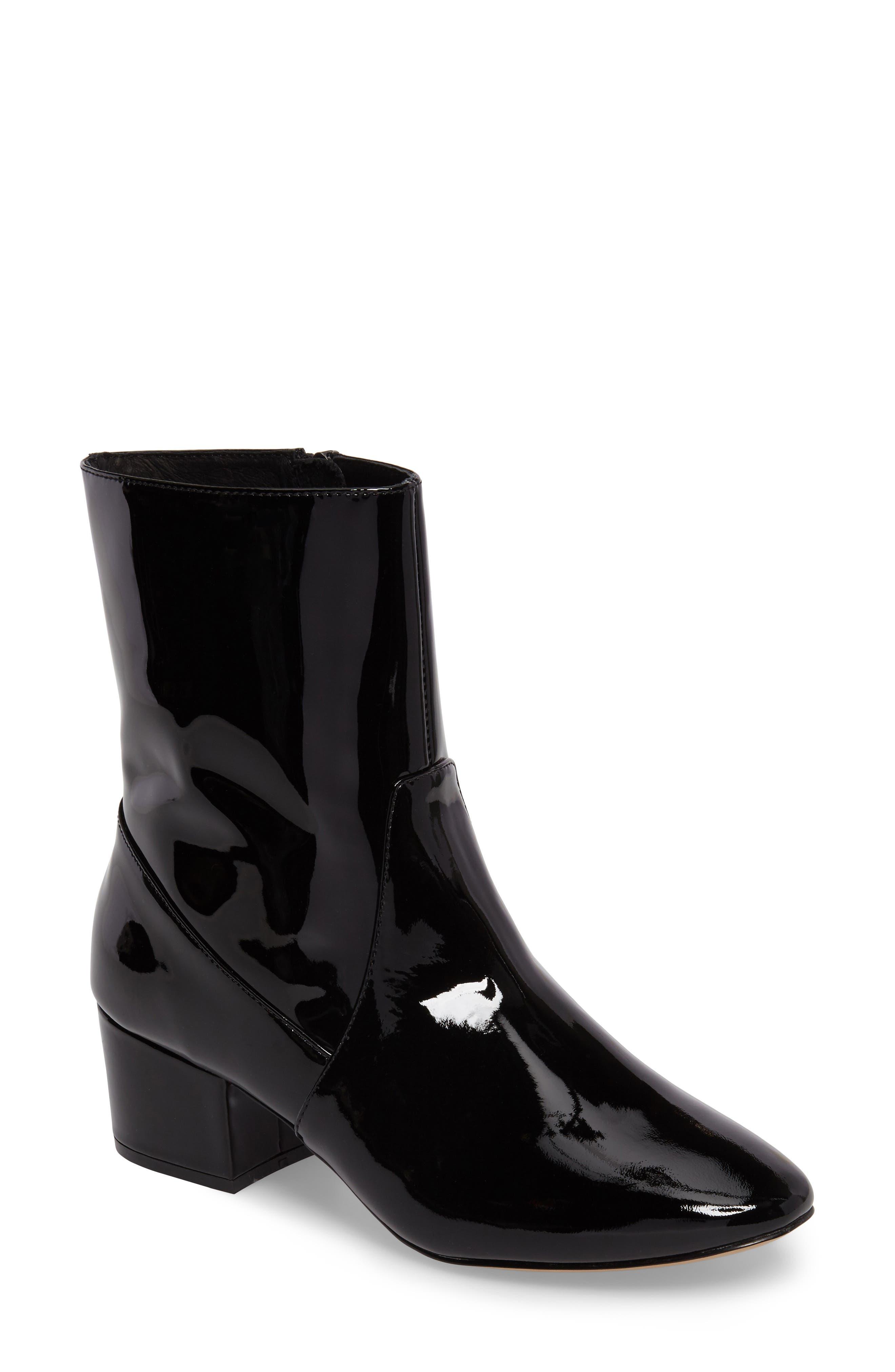 Main Image - Botkier Gable Patent Block Heel Bootie (Women)