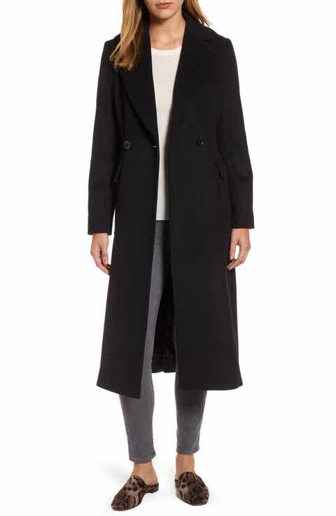Women's Long Wool & Wool-Blend Coats | Nordstrom
