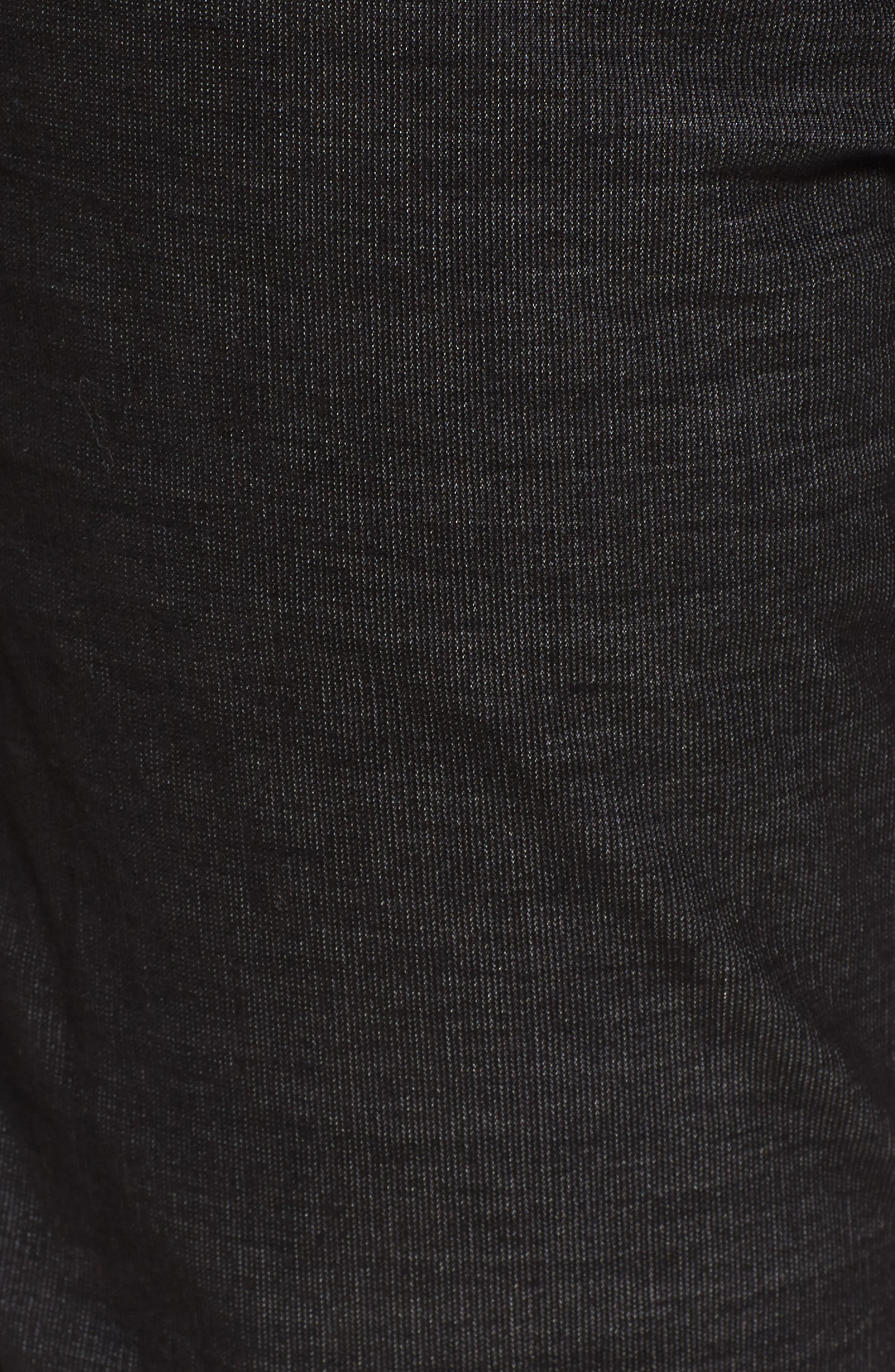 Rocco Skinny Fit Corduroy Jeans,                             Alternate thumbnail 5, color,                             Black