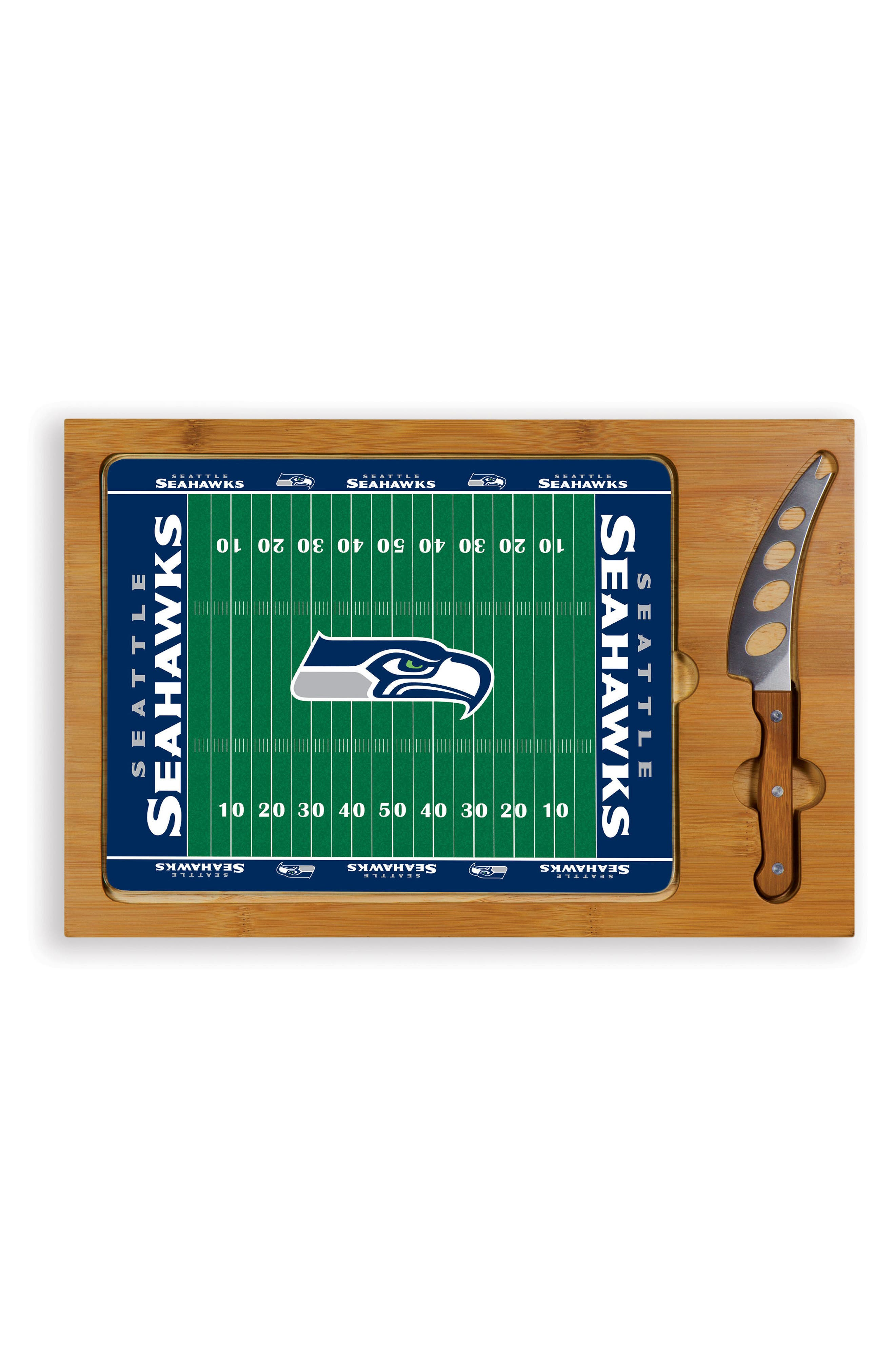 Main Image - Picnic Time Icon - NFL Team 3-Piece Cheese Board Set
