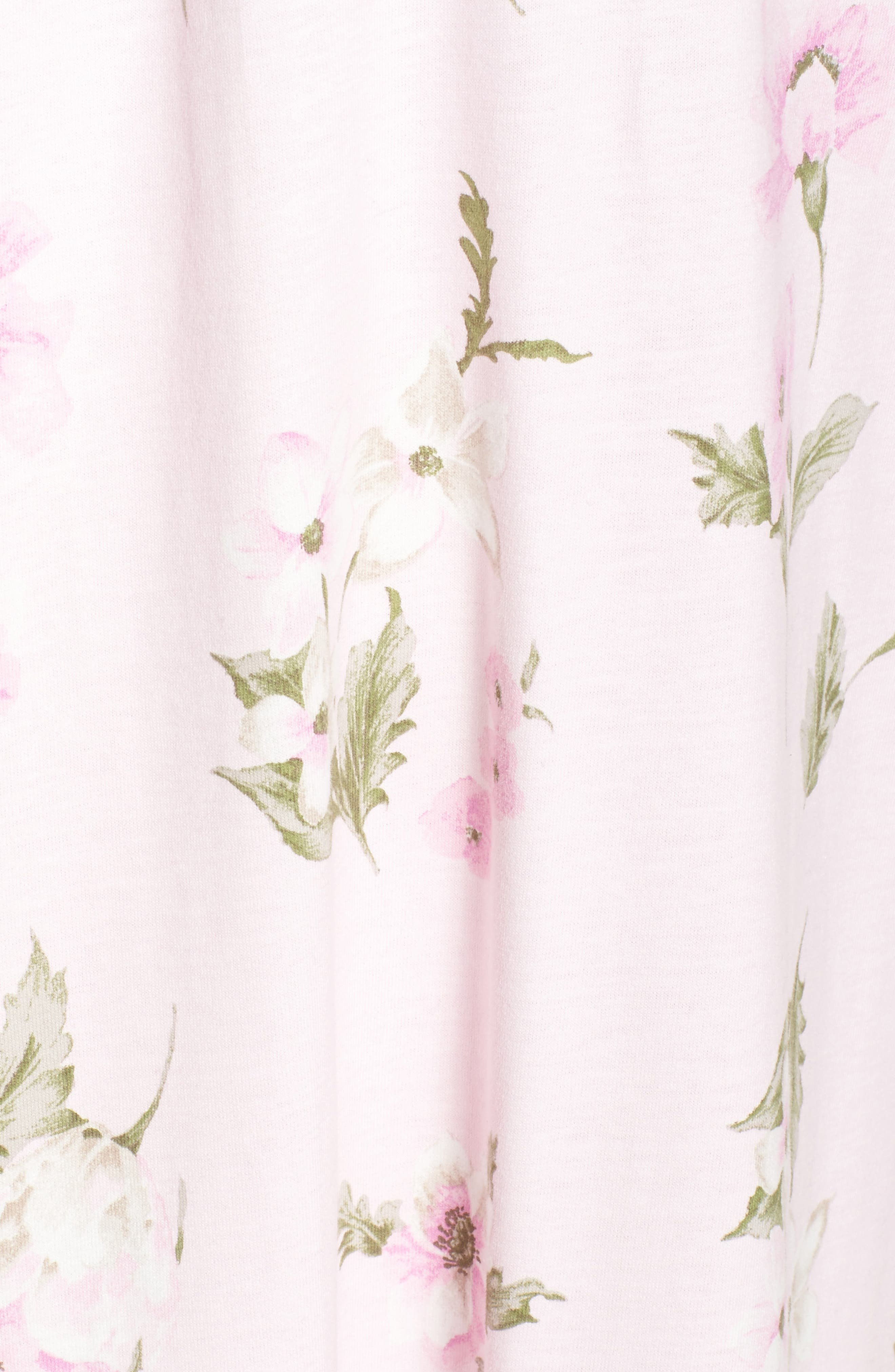 Knit Nightgown,                             Alternate thumbnail 6, color,                             English Petal