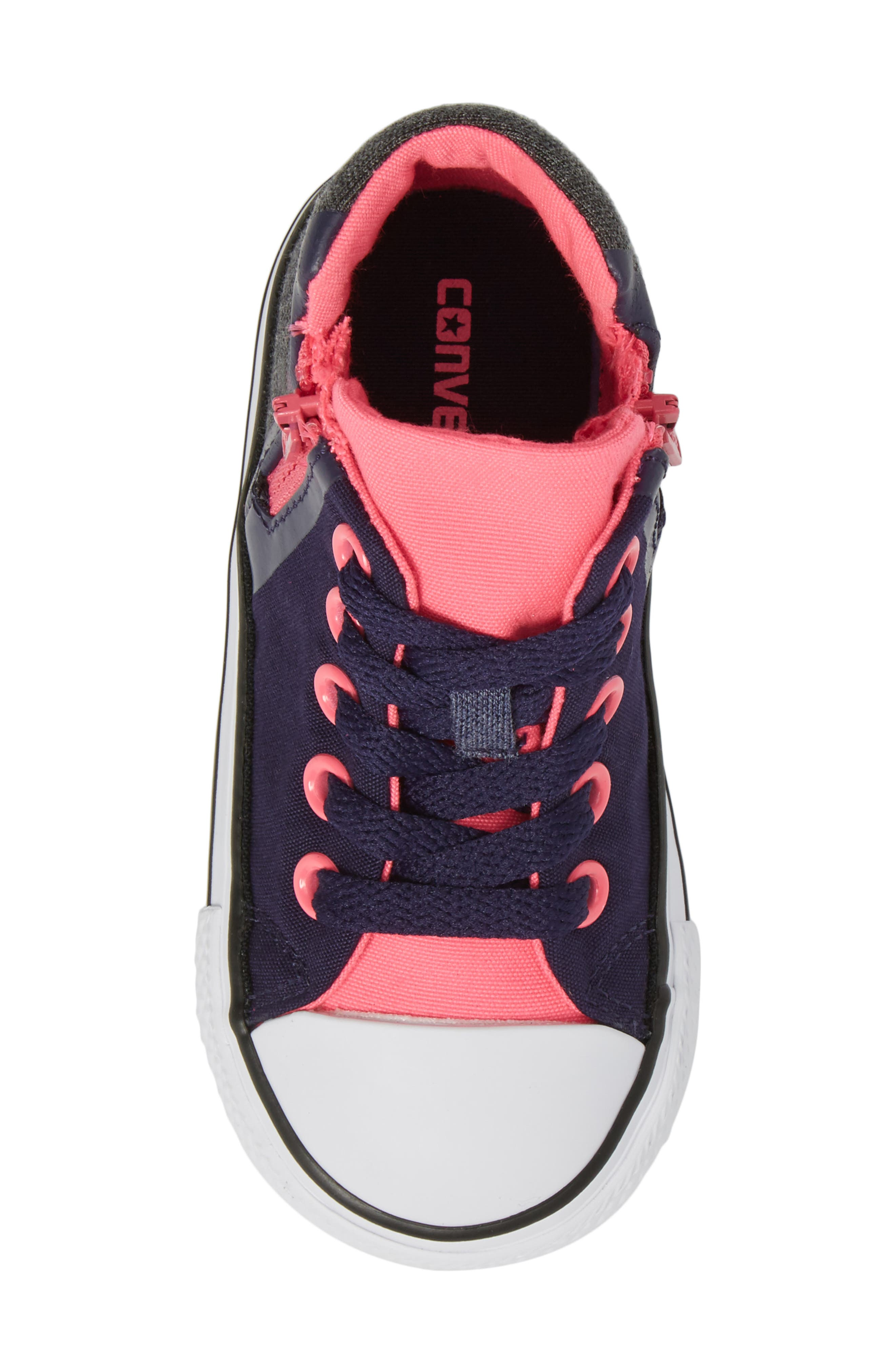 Alternate Image 5  - Converse Chuck Taylor® All Star® Sport Zip High Top Sneaker (Baby, Walker, Toddler, Little Kid & Big Kid)