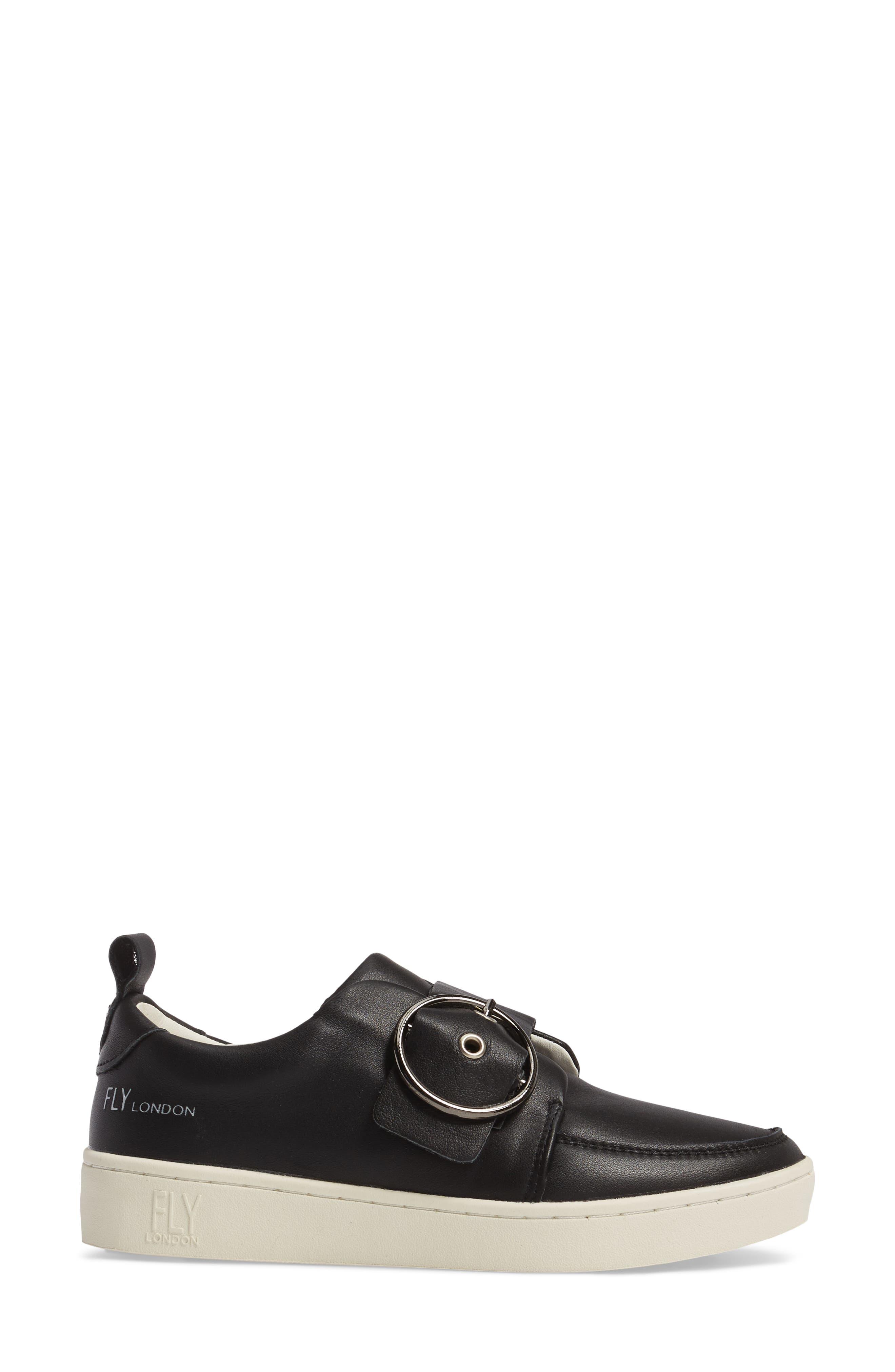 Alternate Image 3  - Fly London Mice Buckle Sneaker (Women)