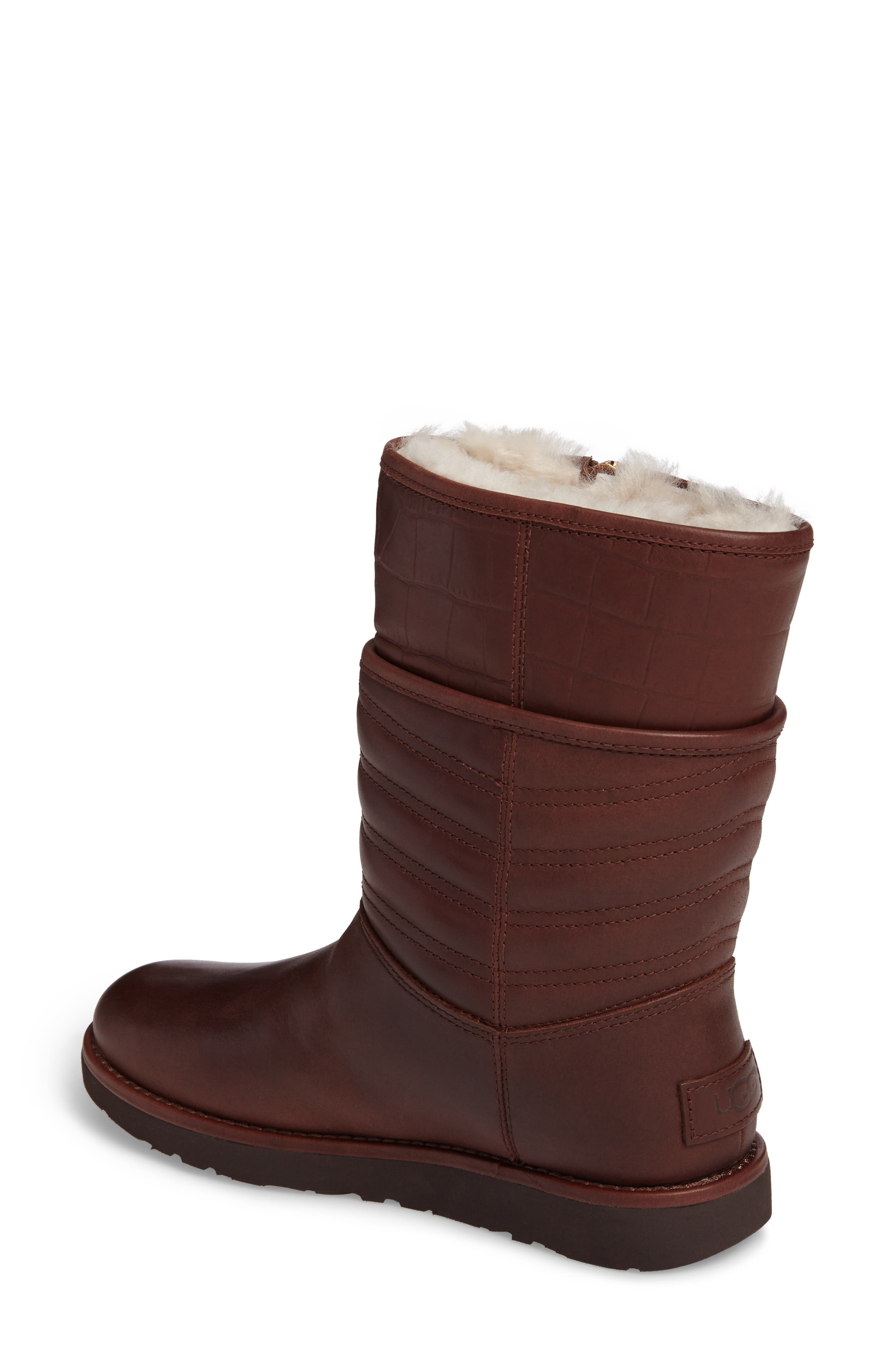 Alternate Image 2  - UGG® Aviva Genuine Shearling Lined Boot (Women)